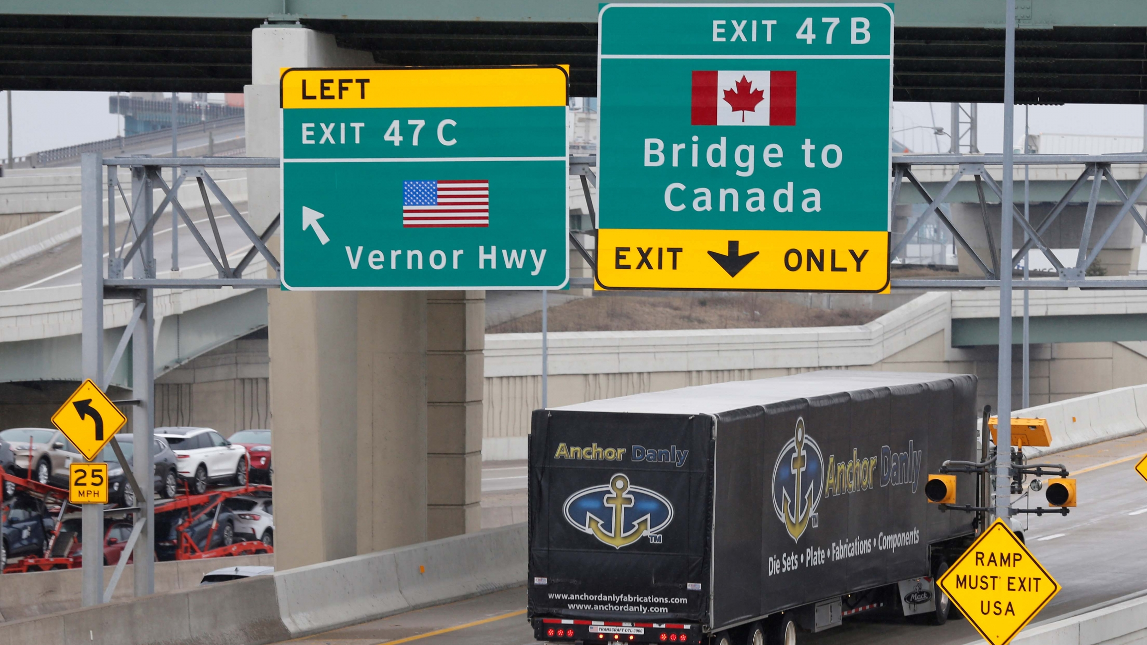 Us Canada Border Closure Will Disrupt Life In This Canada Border Town