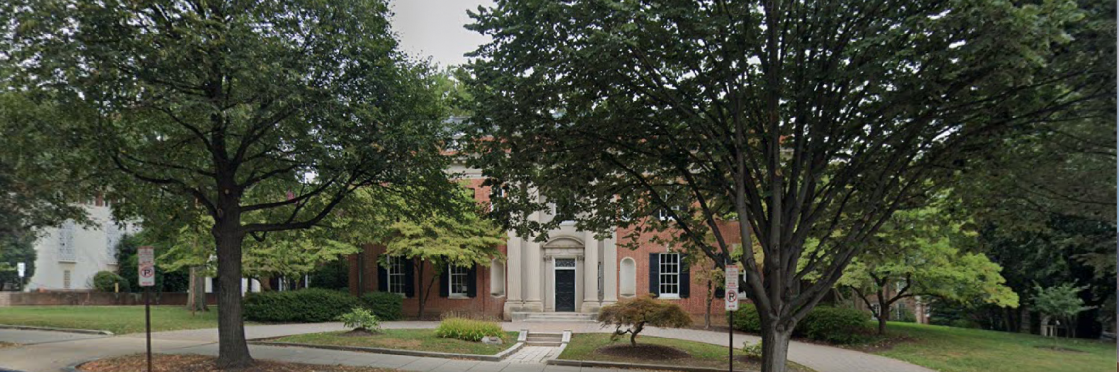 The former Iranian ambassador's residence in Washington, DC, has been empty for a long time.