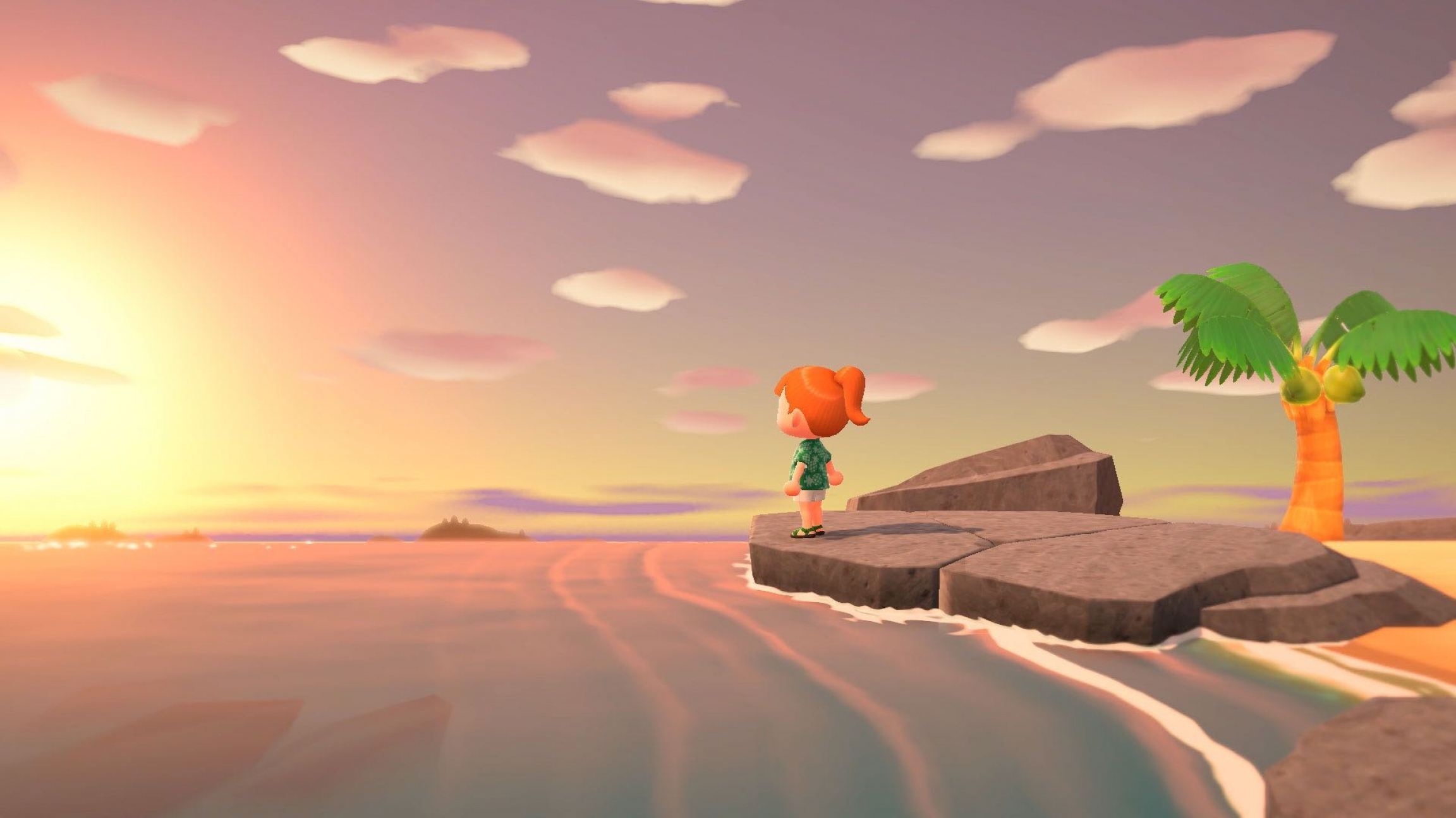 A scene from Animal Crossing: New Horizons.