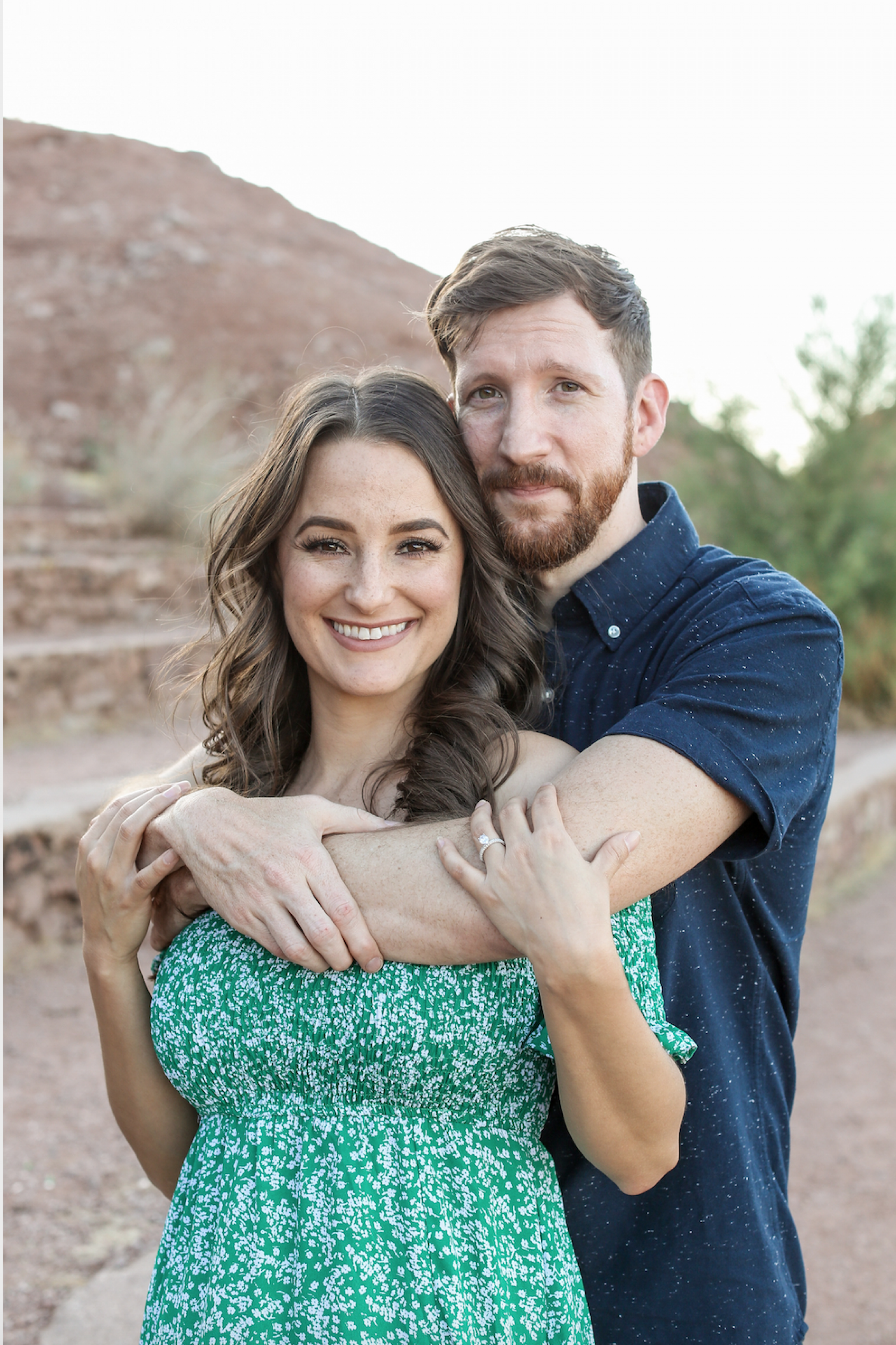 Katie Bock and Scott Davis of Arizona postponed their wedding until later this year as a result of the COVID-19 pandemic.