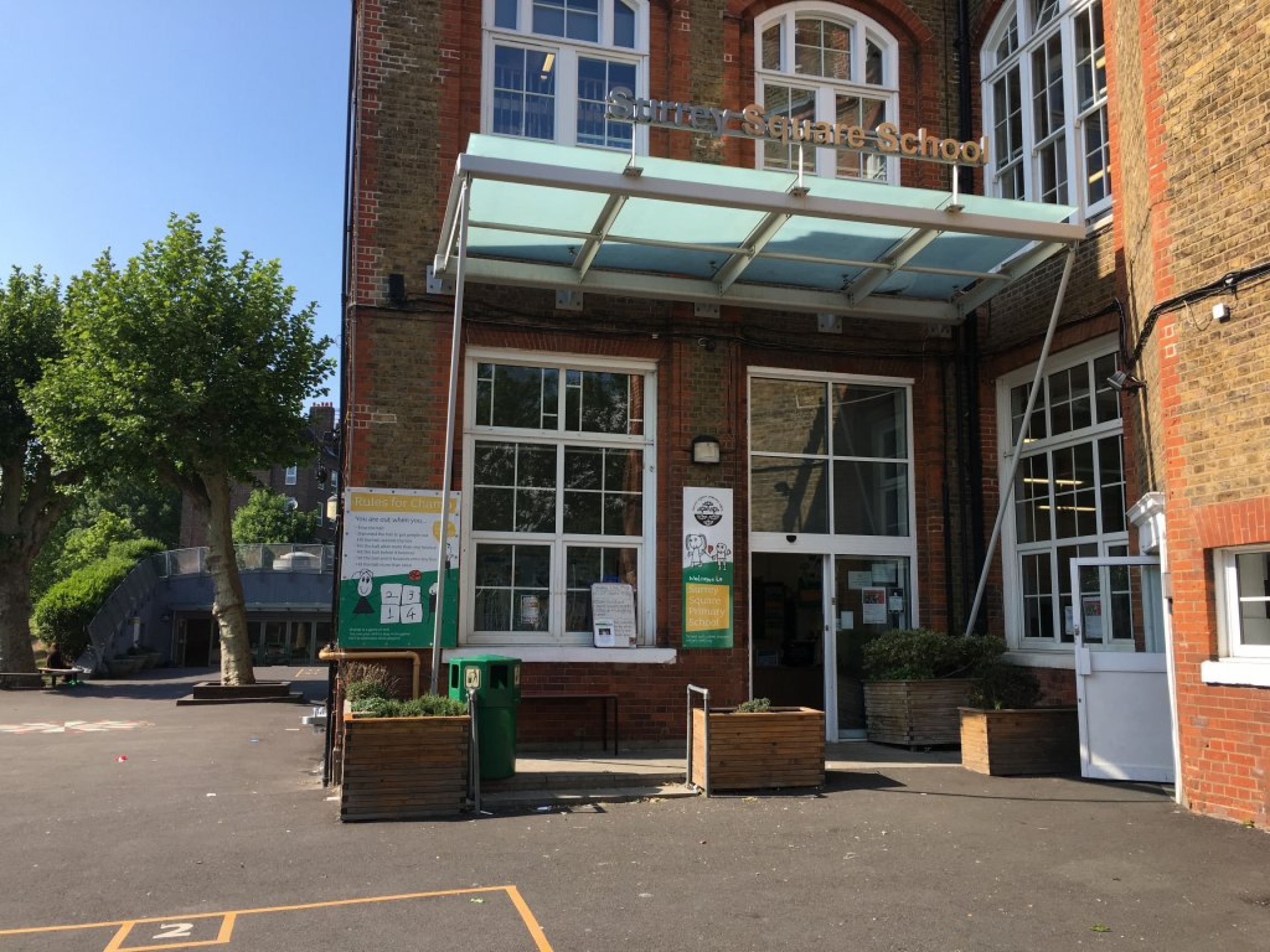 Staff at Surrey Square Primary School, located in southeast London, have been working to provide food for their most vulnerable students during the pandemic.