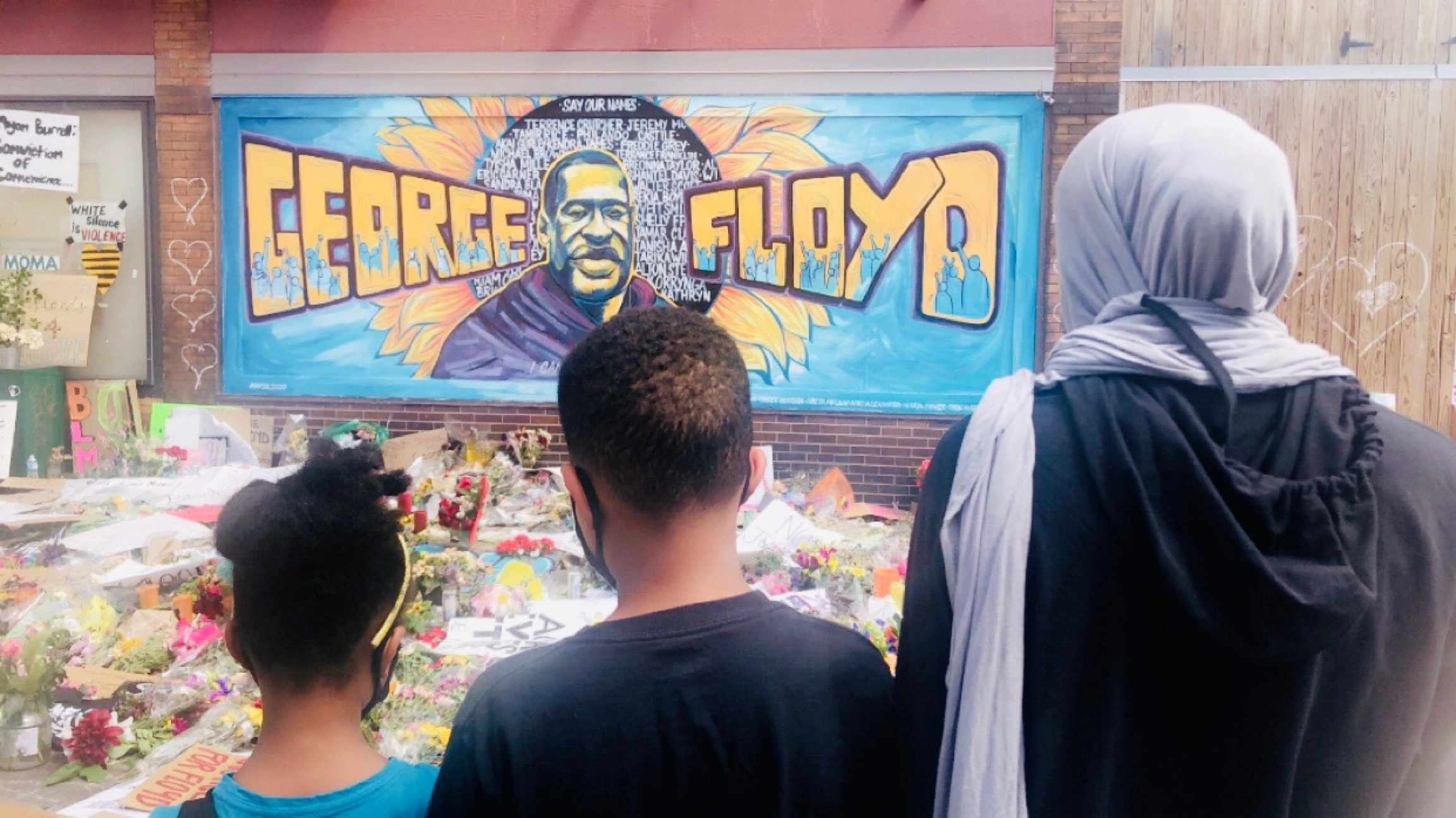 Malika Dahir, a Somali American and mother of three in Minneapolis, is aggrieved over the killing of George Floyd.