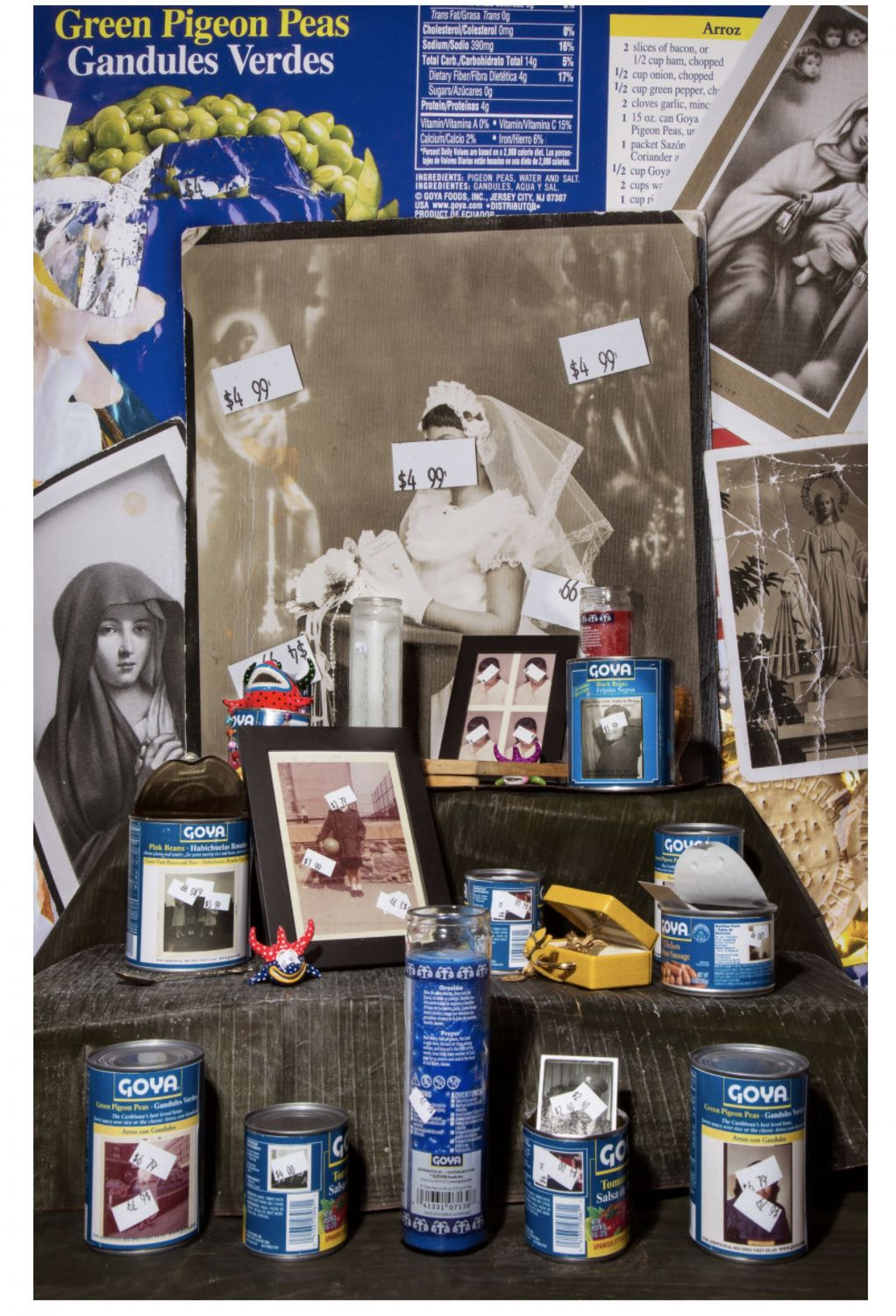 Ysabel Turner created an altar in her 2018 exhibit at the New York City Aperture Foundation.