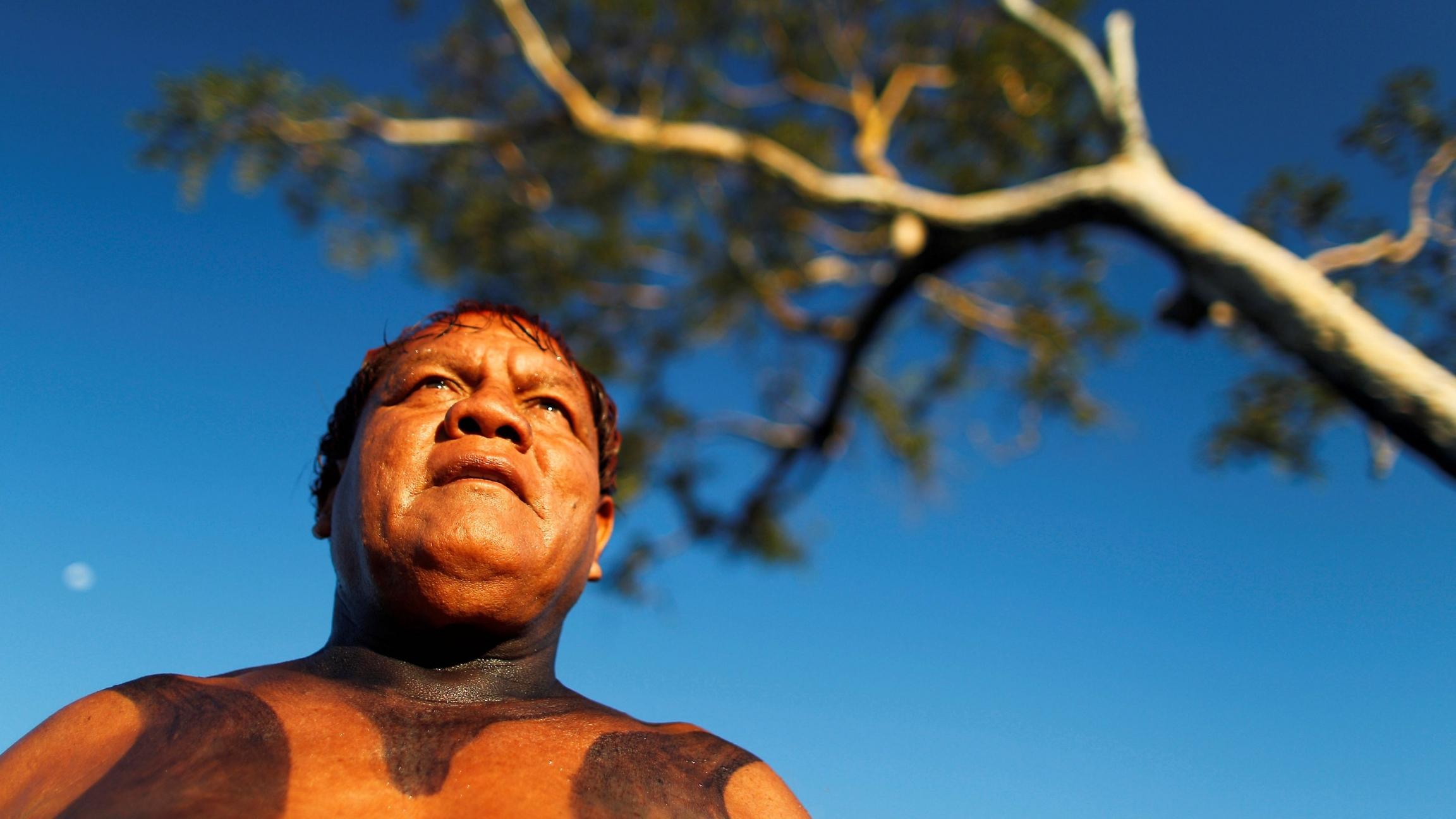 Yawalapiti ChiefAritanais seen in the Xingu National Park, Mato Grosso State, May 9, 2012.