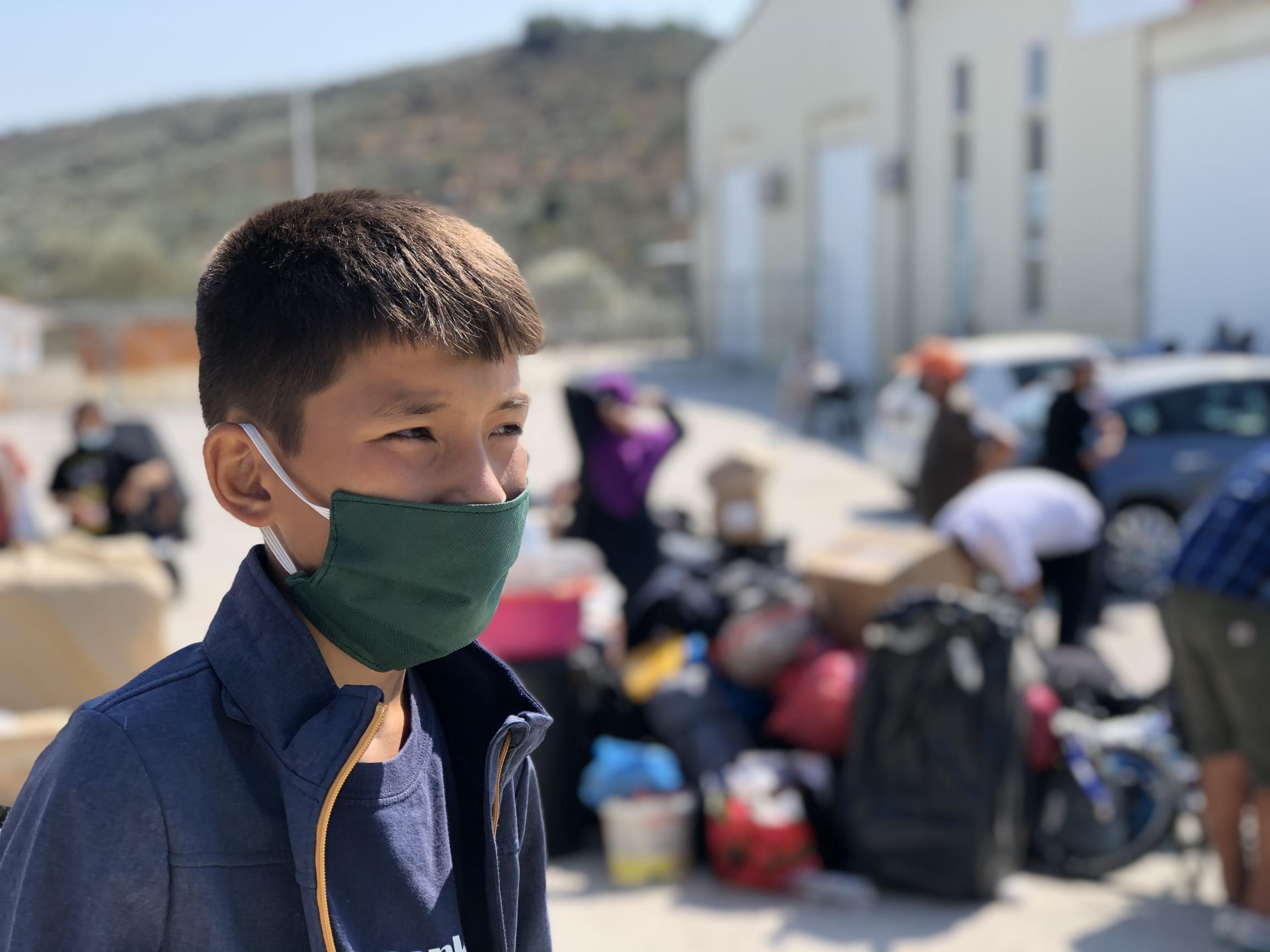 migrant teen