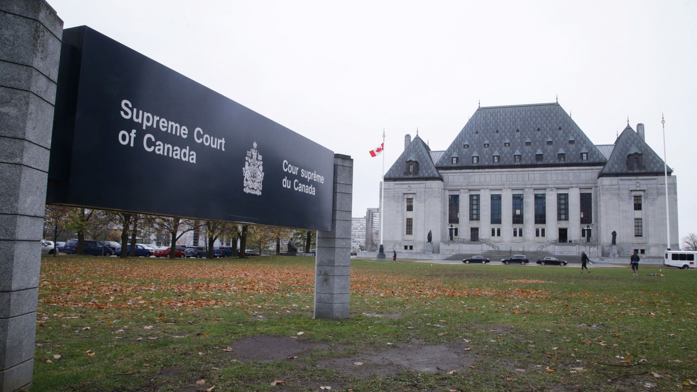 The Supreme Court of Canada is seen in Ottawa, Ontario, Canada, Nov. 4, 2019.