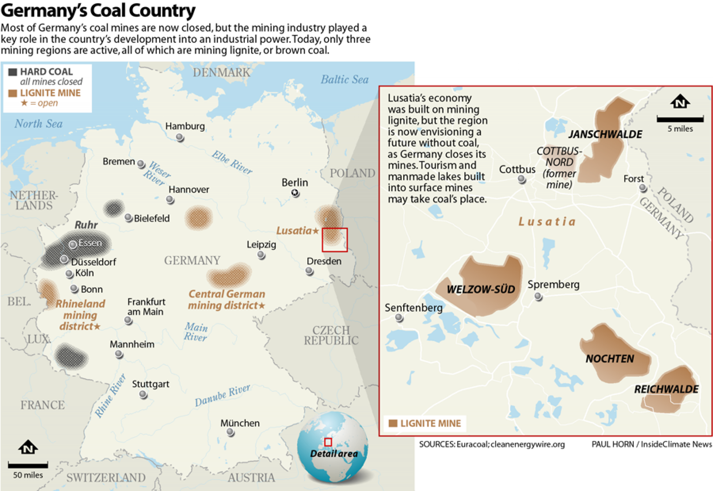 Germany's coal country
