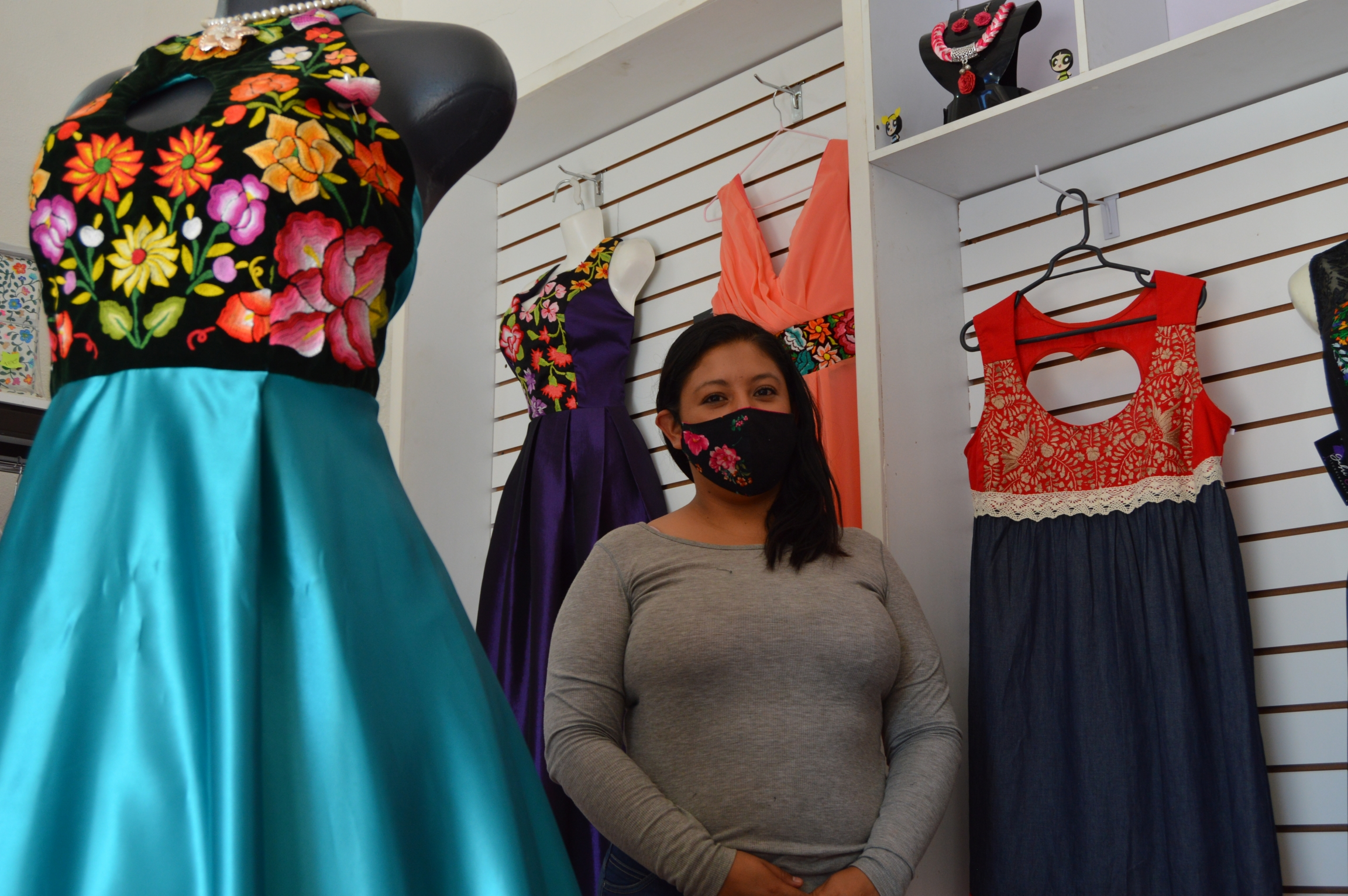 Face masks aren't as profitable as other goods, but they're a stop-gap measure helping textile workersin Mexico stay in business during COVID-19.