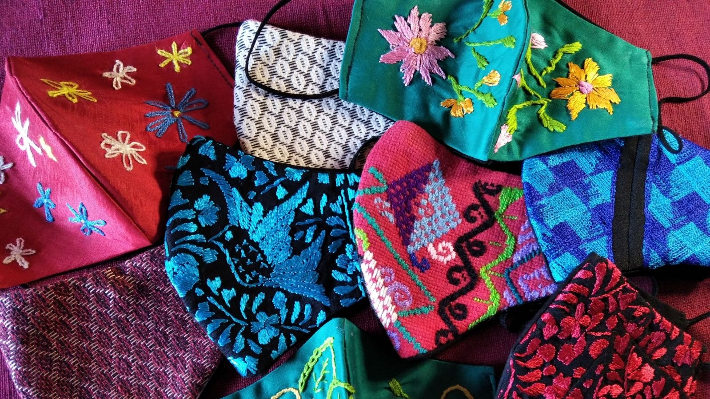 Shifting to face masks has been a survival move for many textile businesses in the southern state of Oaxaca, Mexico.