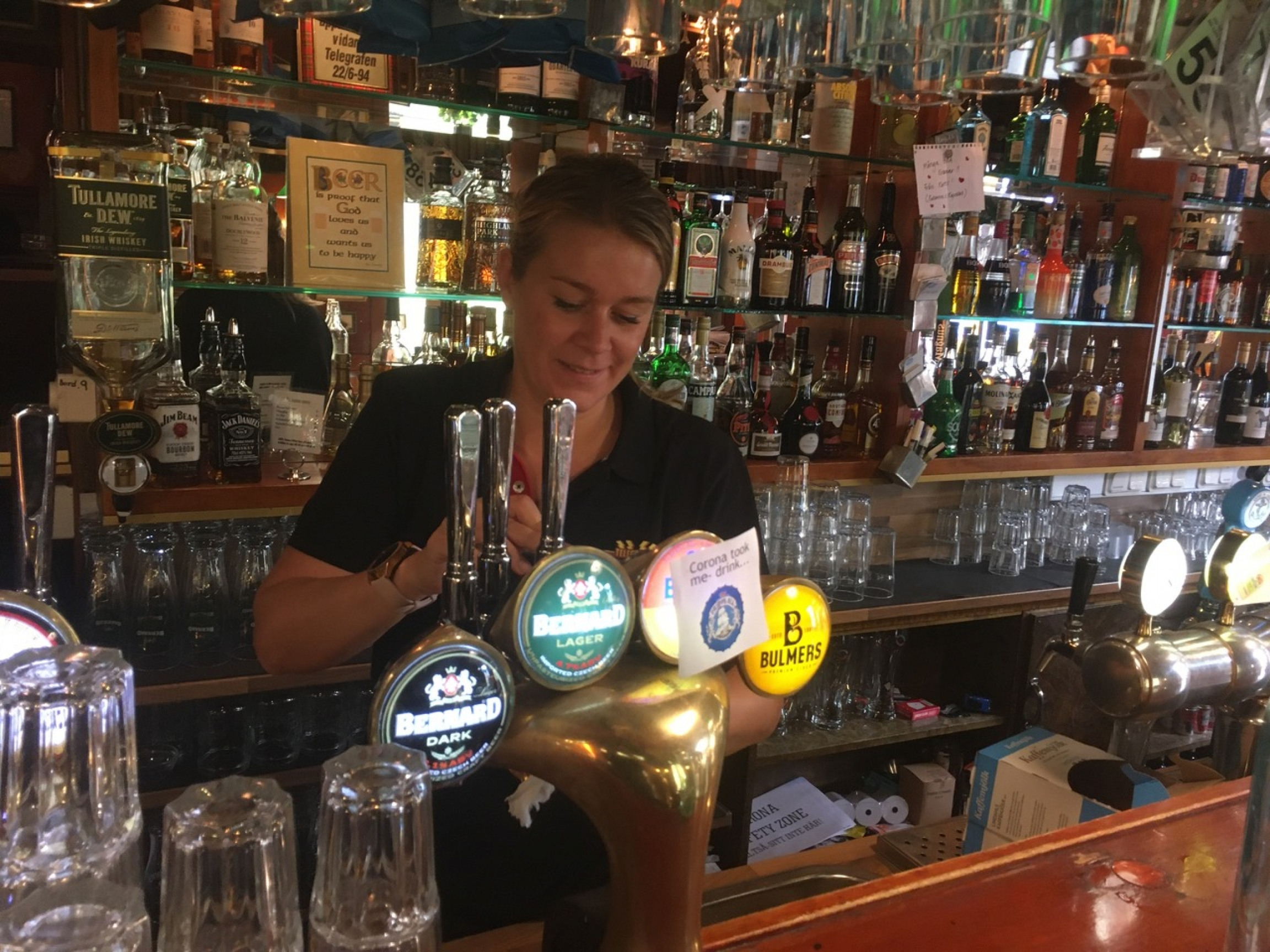 Bar Helsingborg's wwner Sarah Johansson