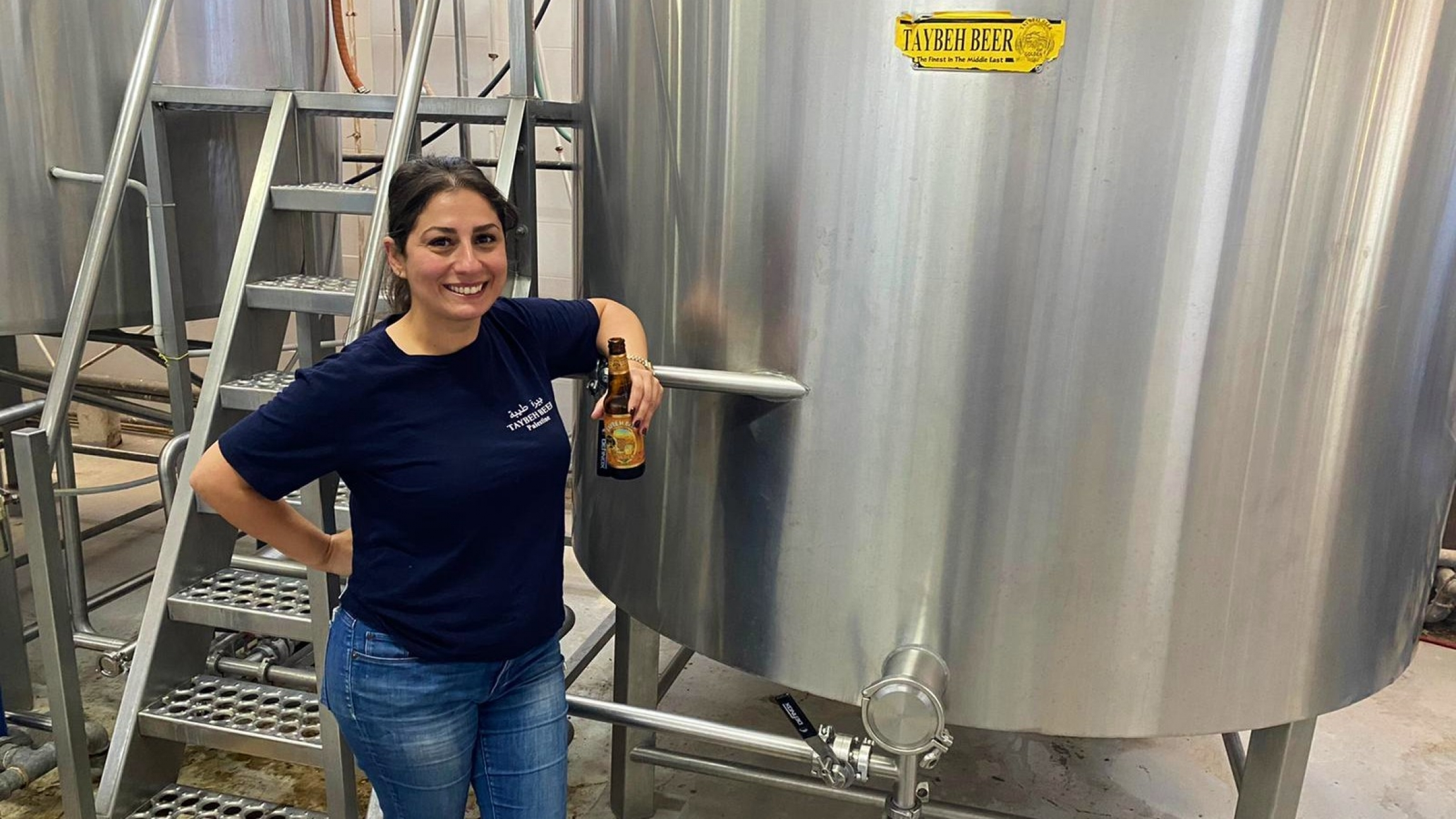 Madis Khouri holds out hope for when the pandemic ends and American diplomats resume purchasing her family's brewed products.