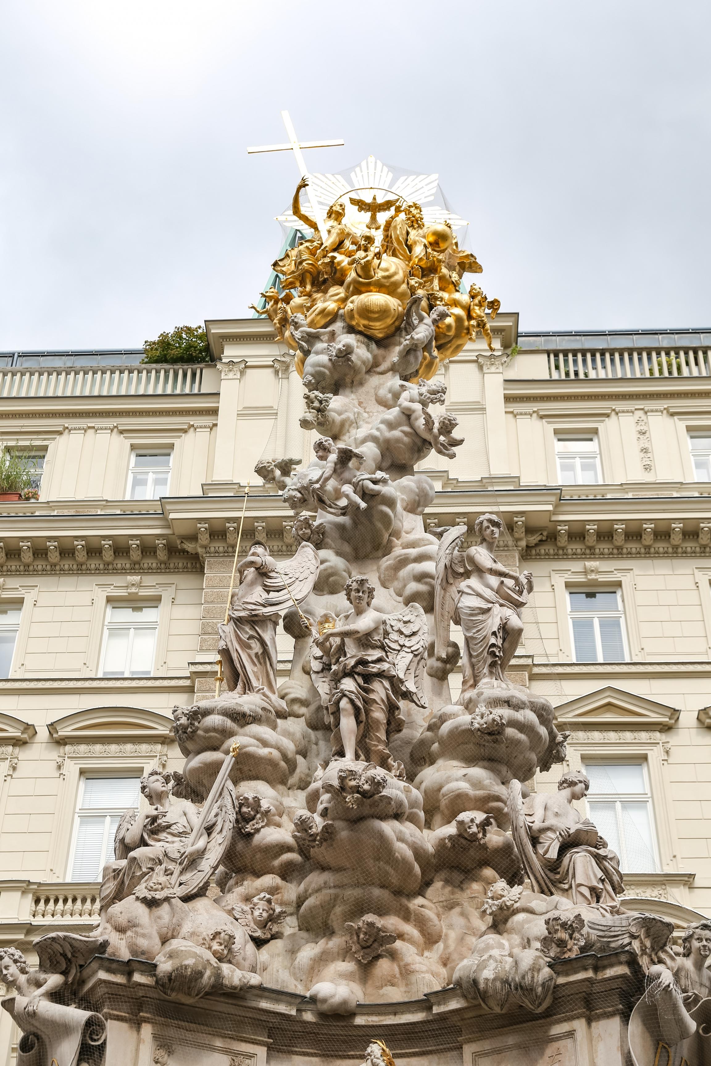 Plague Column in Vienna.