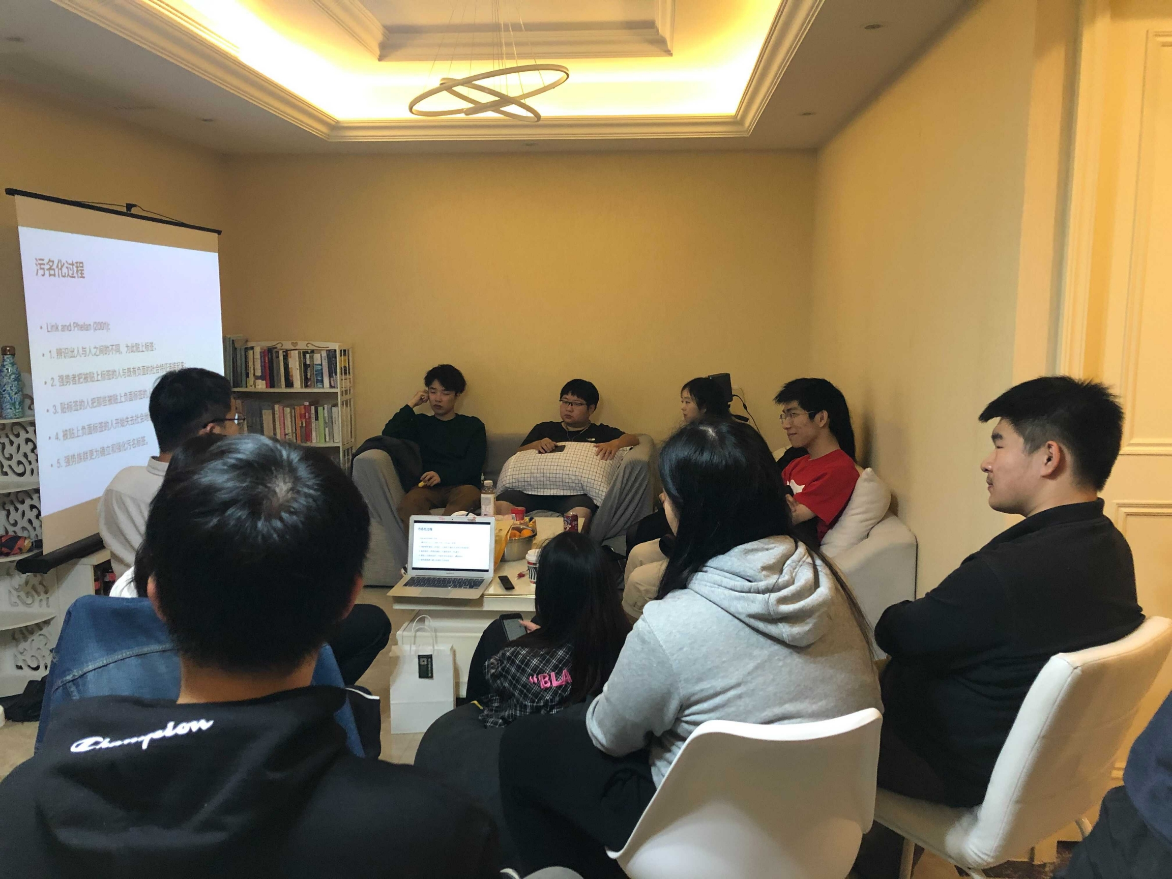 Students study together at 706 Life Lab, a co-living community in Hangzhou, China, that is attracting Chinese students who seek a community as they study remotely.