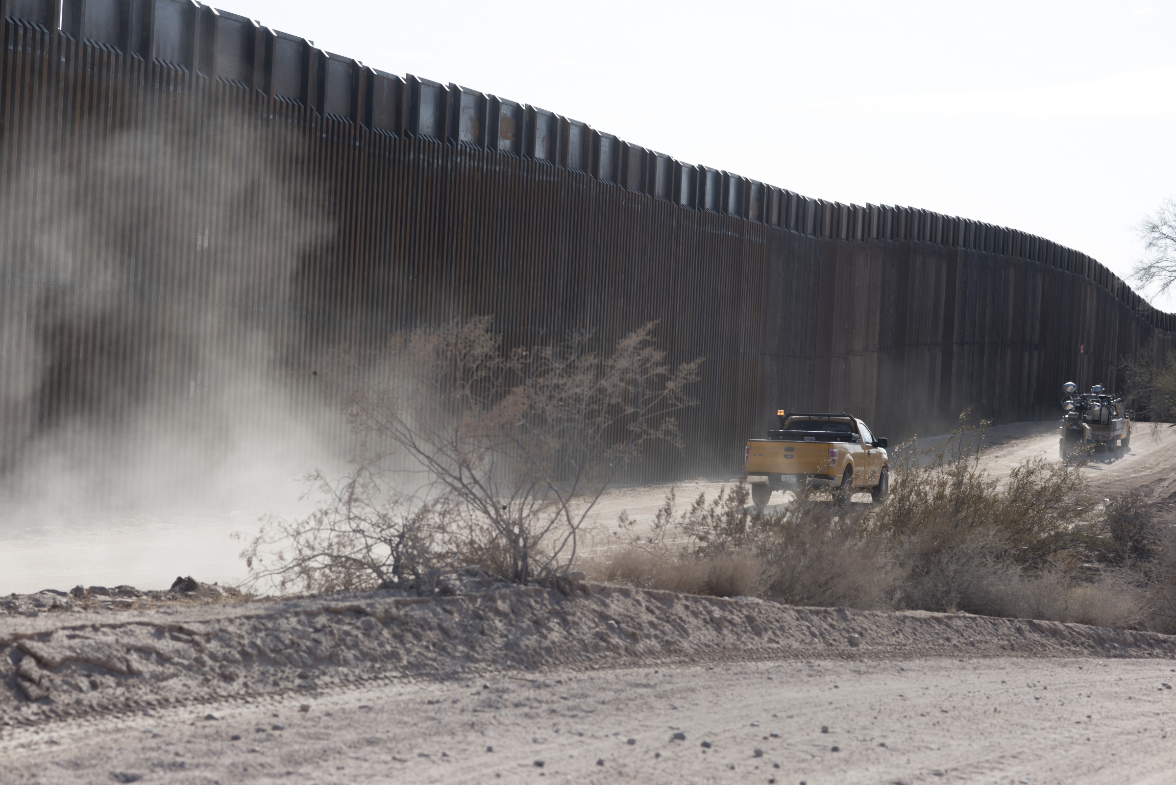 The Trump administration has waived dozens of environmental and cultural protection laws to push the border wall project through.