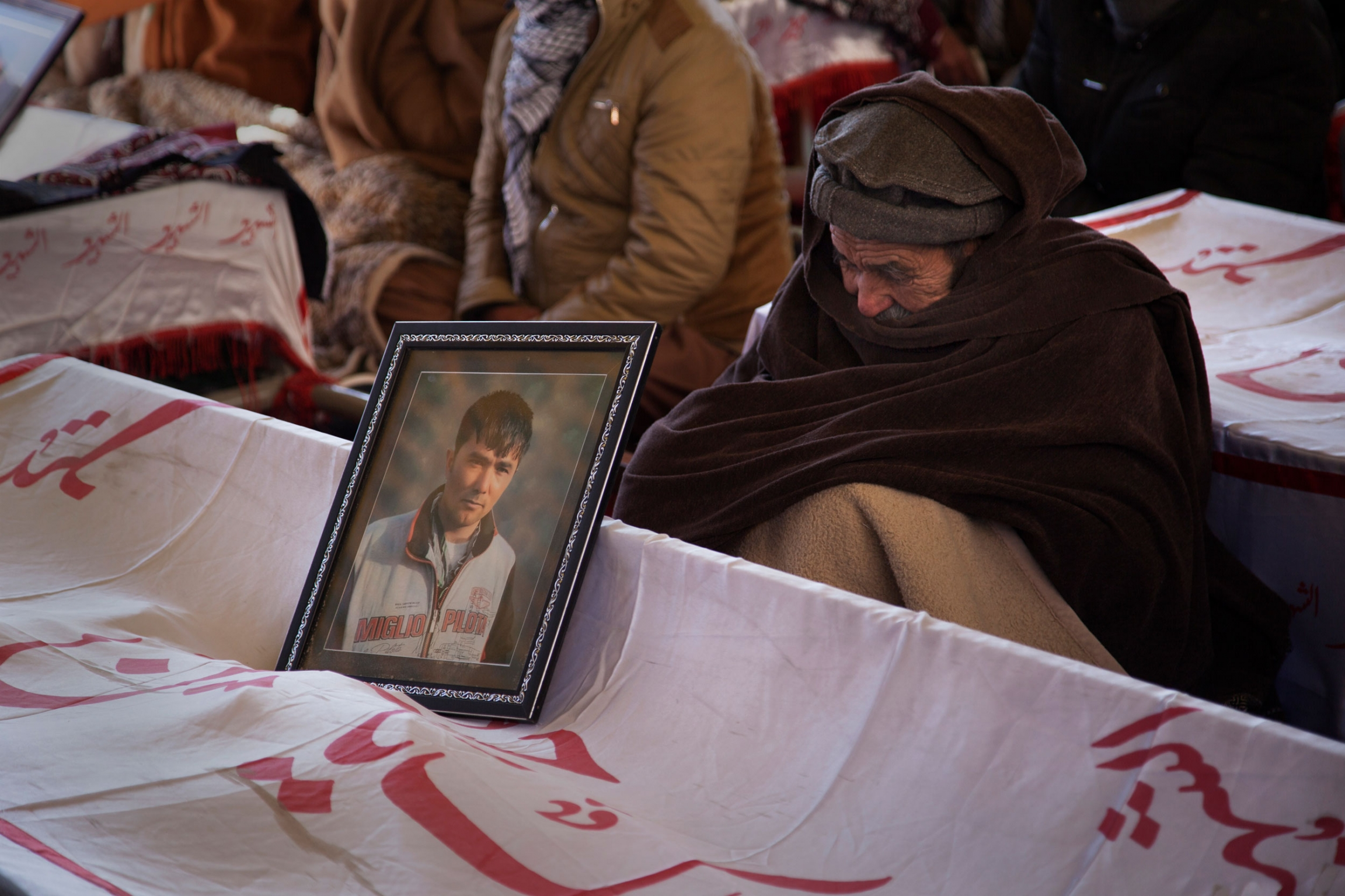 Families of the slain Hazaras staged a sit-in in protest to repeated attacks on their community in Pakistan.