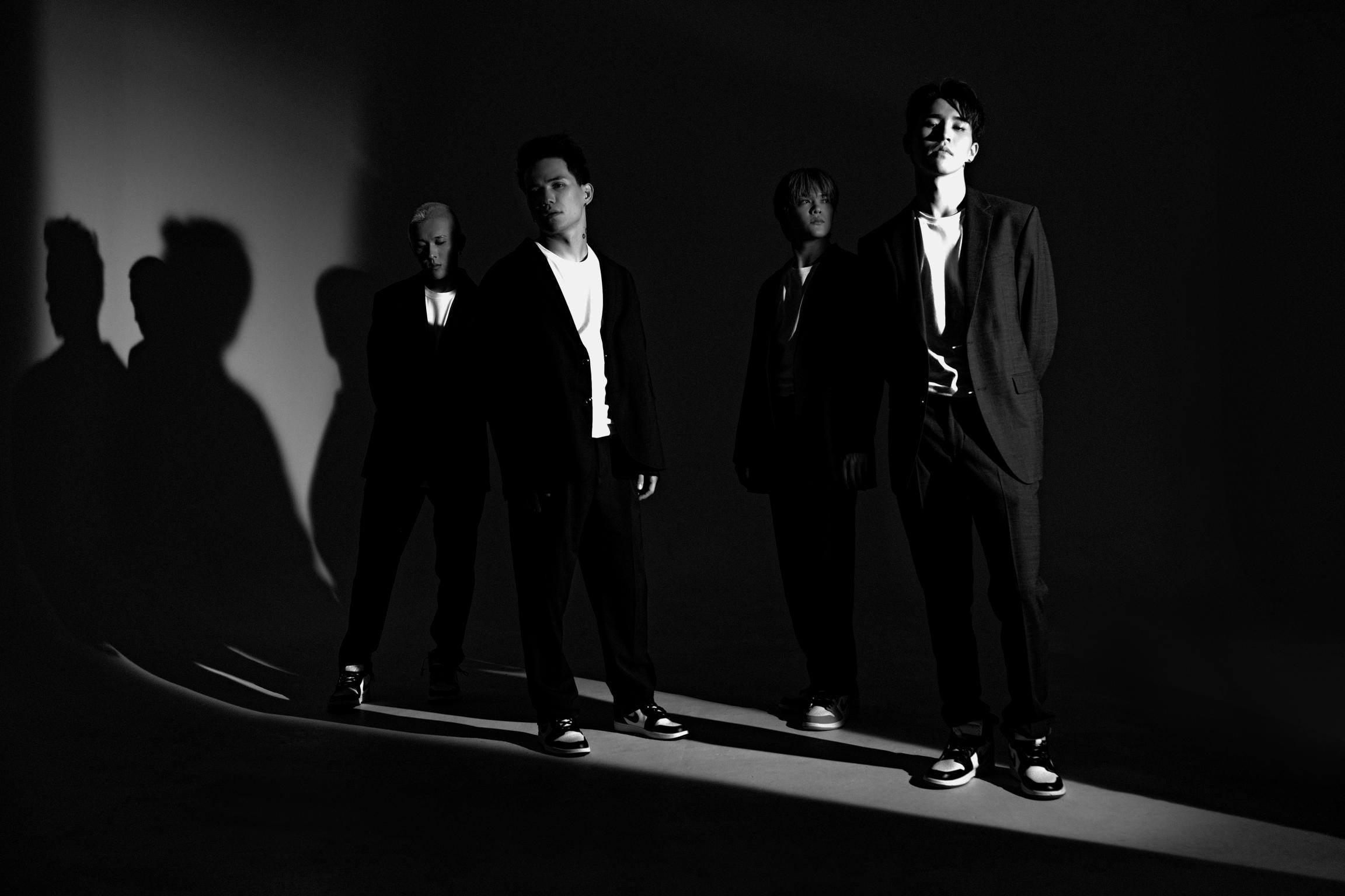 Members of Ninety One, a Q-pop boy band.