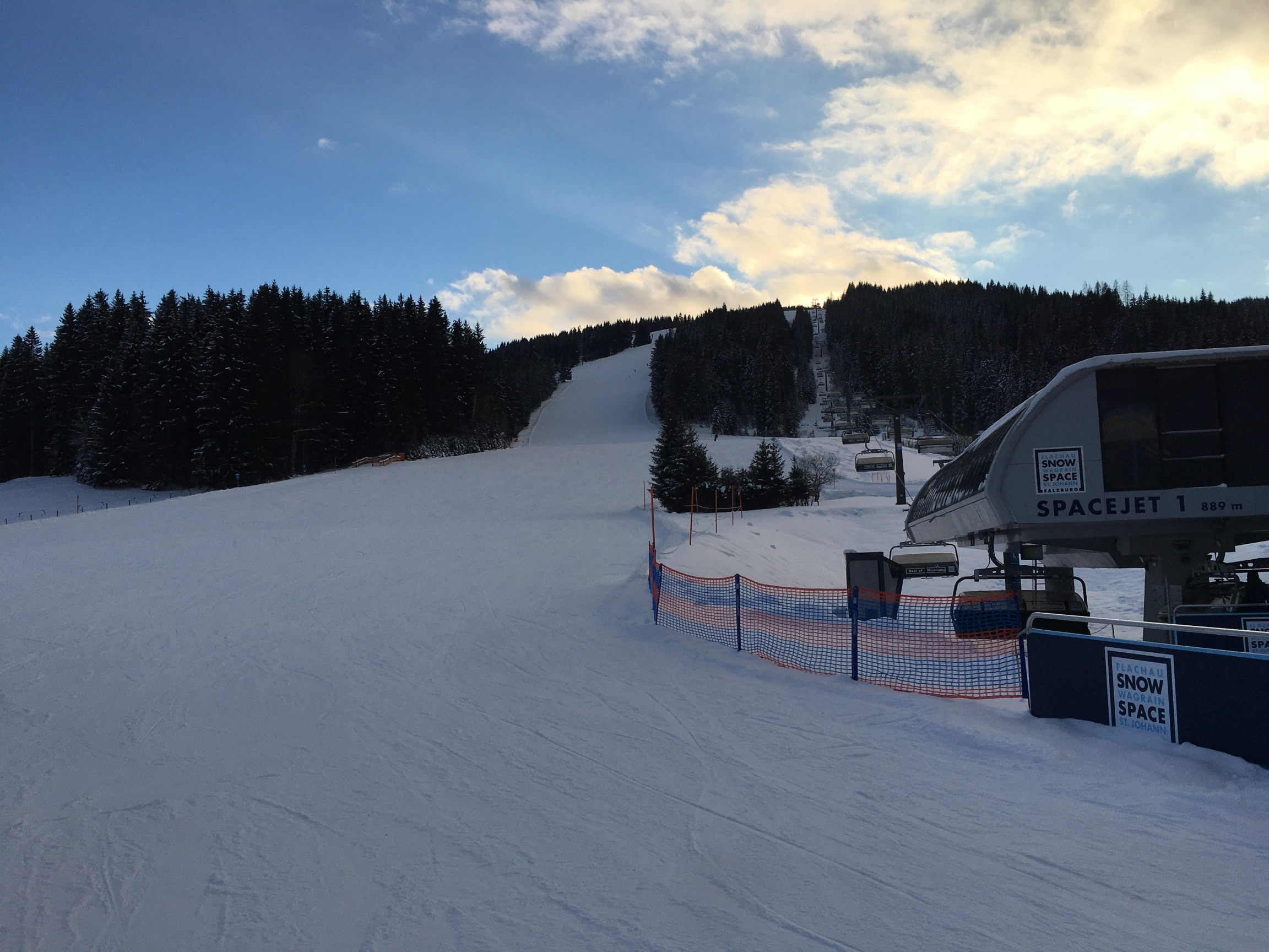 Ski slopes in Austria are technically open, but with hotels and restaurants closed, only locals can make day trips to many resorts in Austria's western Alps.