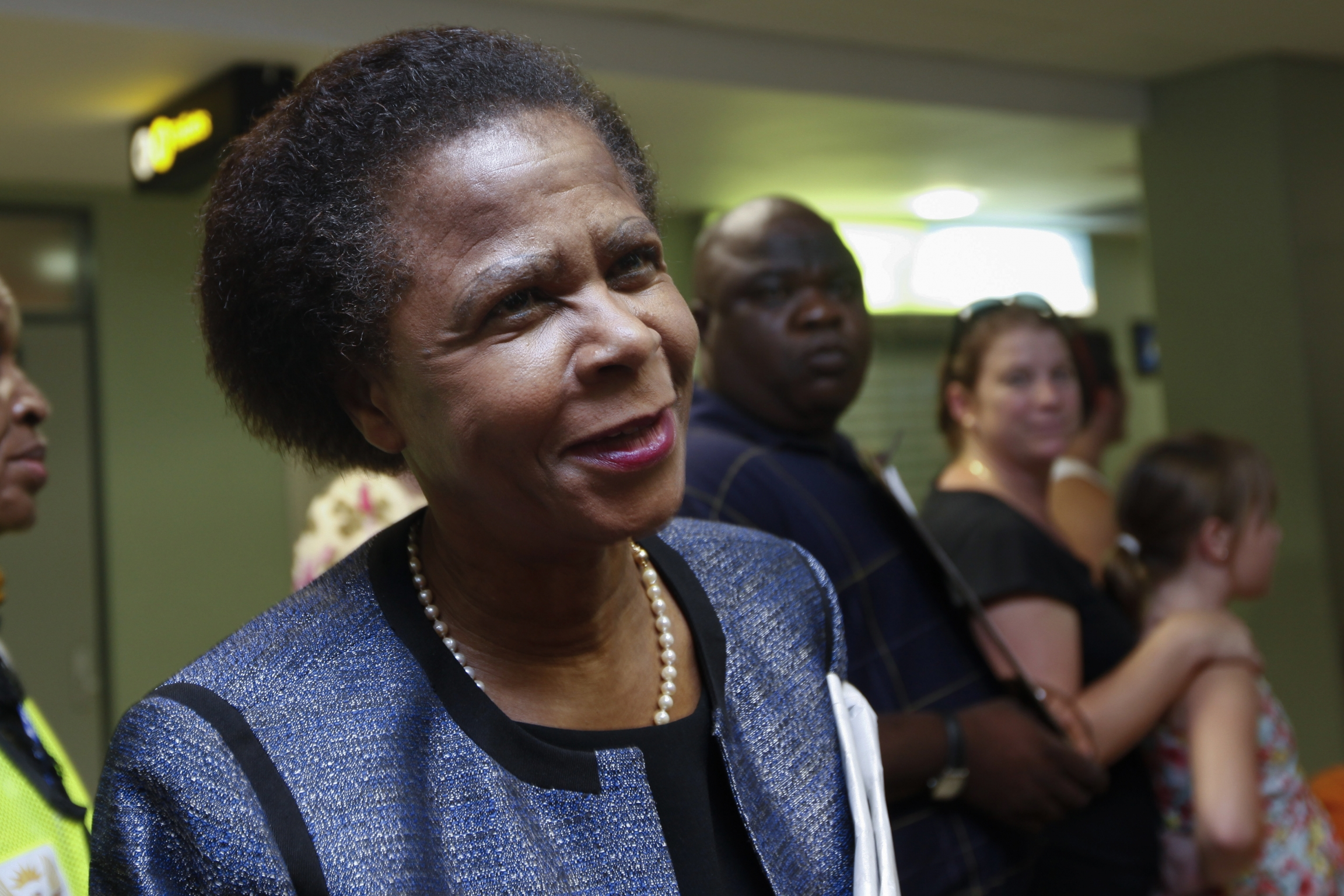 A portrait of Mamphela Ramphele