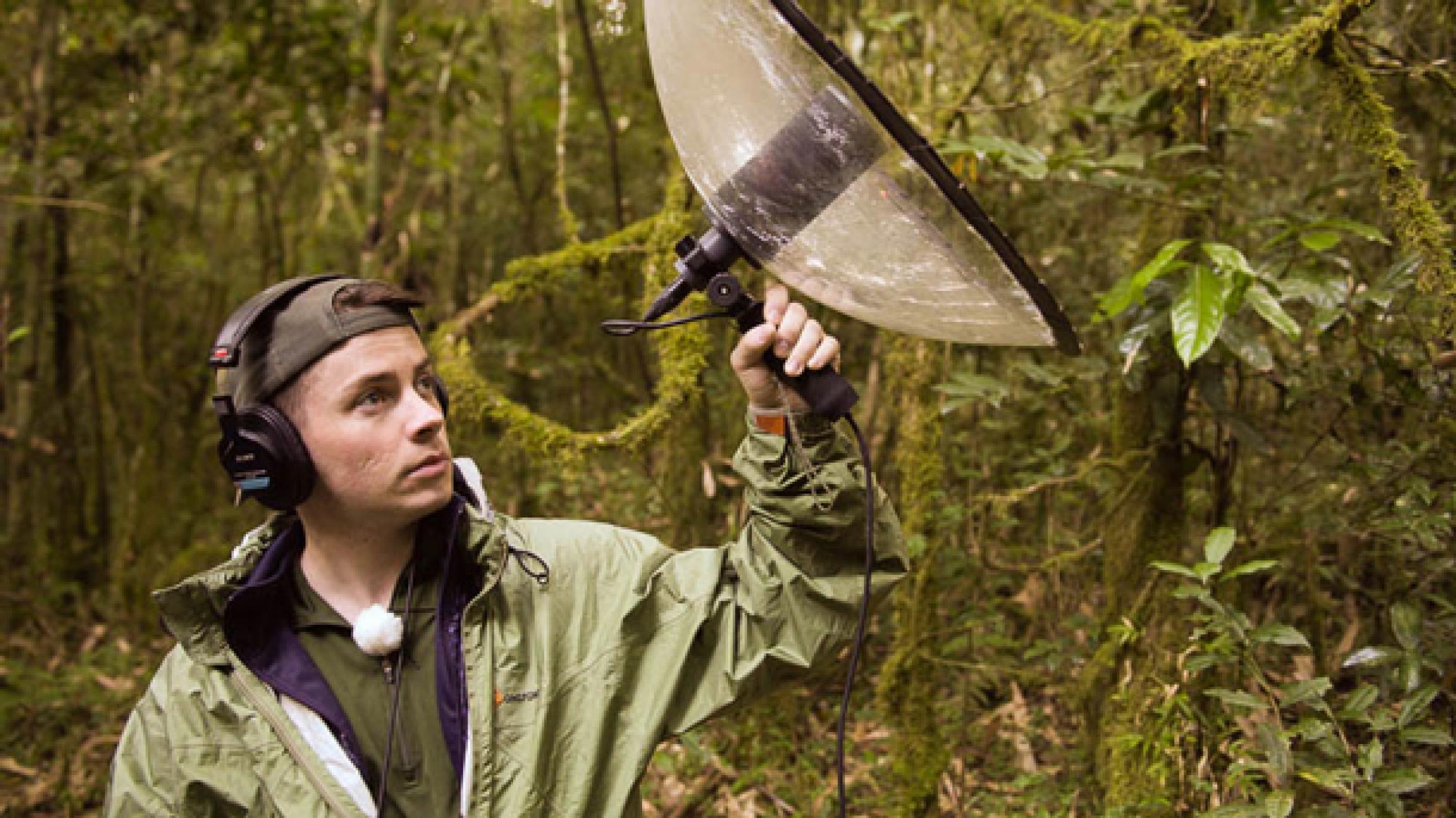 National Geographic Explorer and wildlife DJ Ben Mirin.
