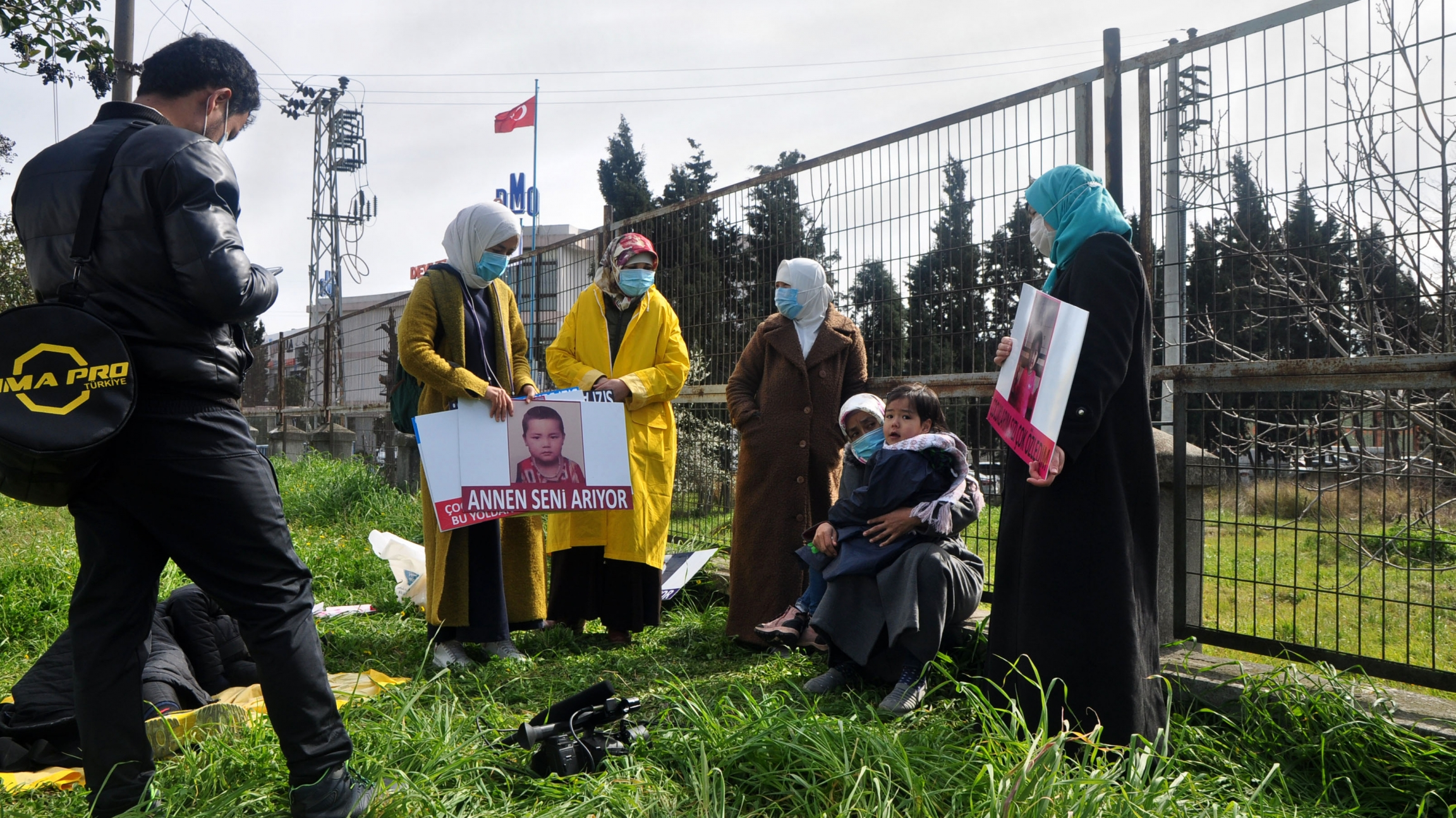 A group of Uyghur mothers are trying to get the Turkish government to help find their missing children in China. The women set out on foot from Istanbul to Ankara, the capital of Turkey, to demonstrate, and say they will continue to wait there until offic