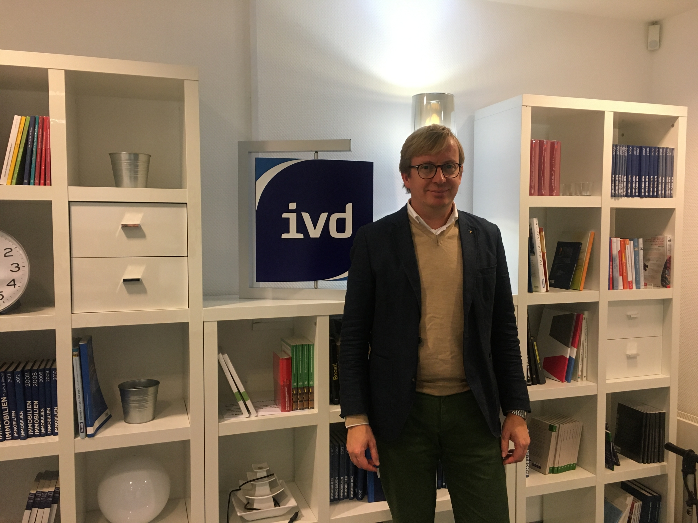 Christian Osthus is thevice director with IVD, which represents over 6,000 real estate agents and property managers in Germany. Osthus said he wasn't surprised by the recent German court ruling lifting a rent cap in Berlin, although he says he doesn't ag