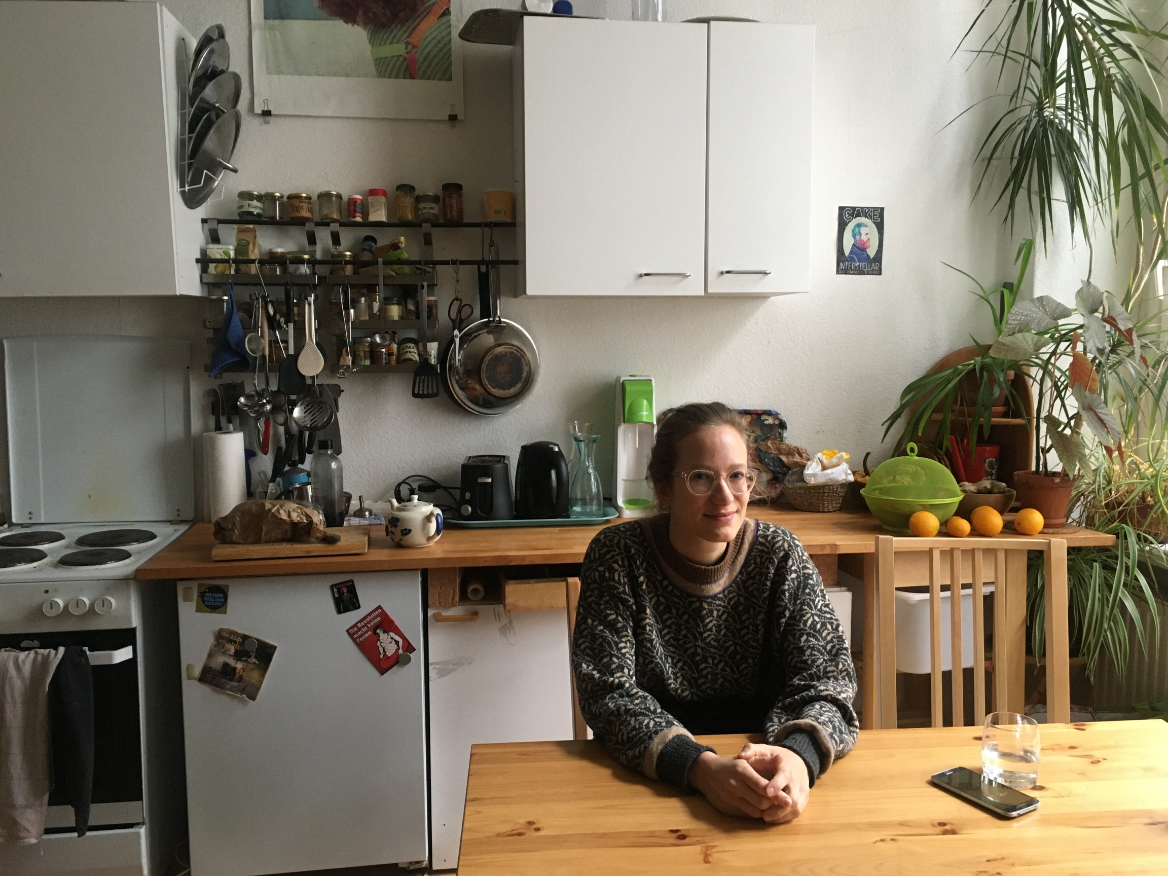 Jenny Stupka, a tenant in Berlin, says that after a recent ruling byGermany's constitutional court that lifts a rent cap in the city, more than half her income will go to her rent.