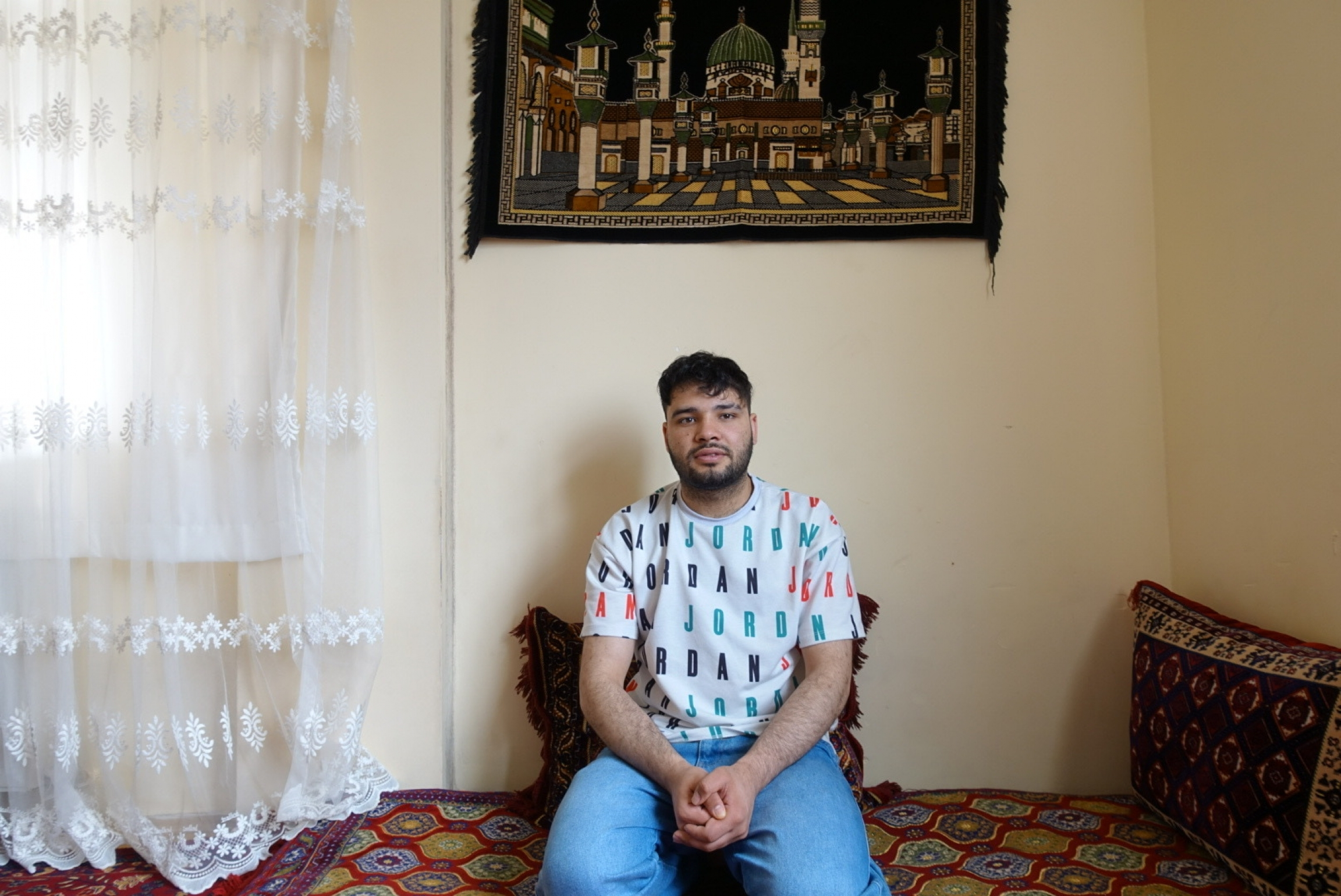 Shapoor, a 22-year-old Afghan living in Istanbul.