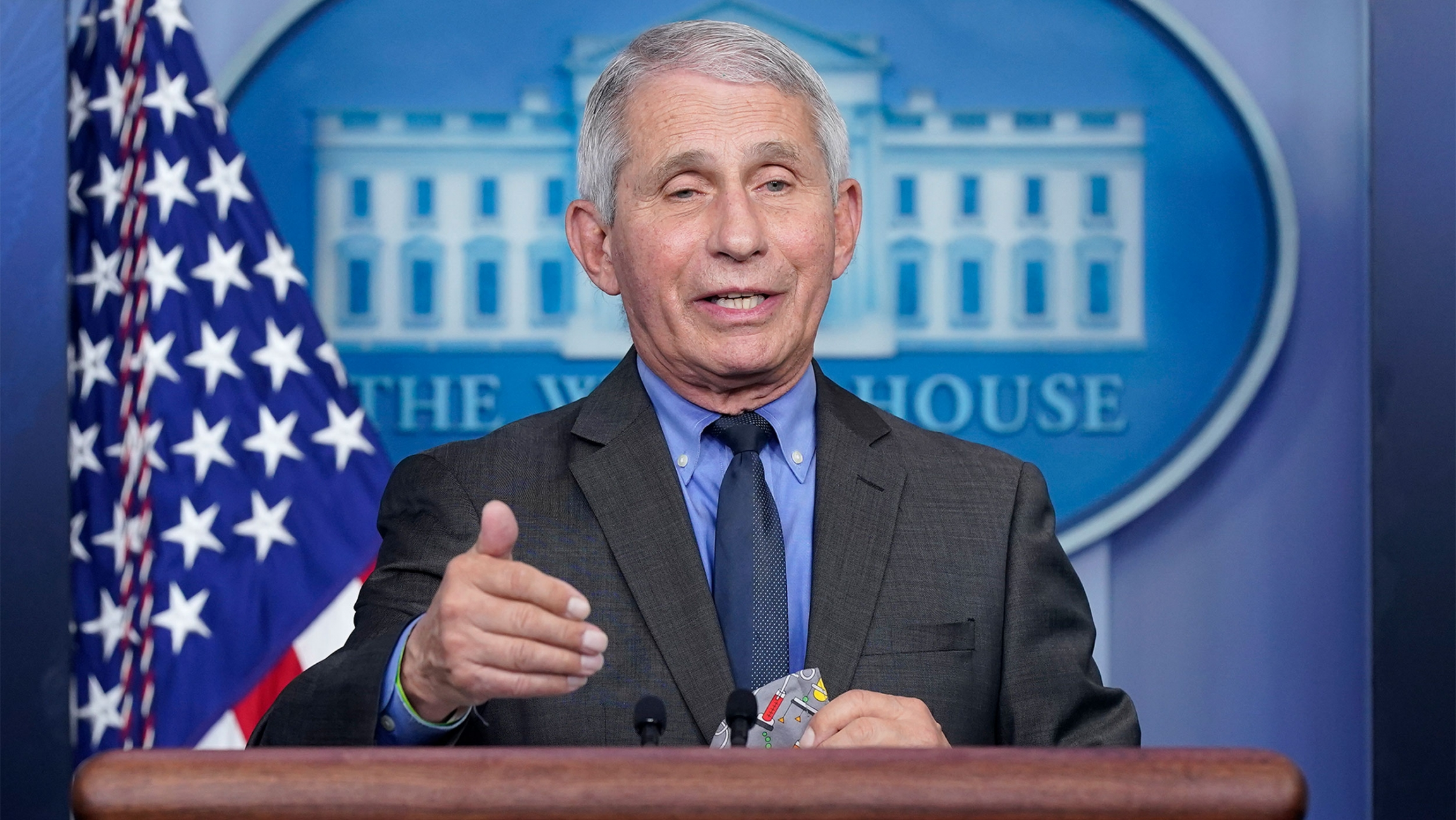 A future pandemic is 'almost guaranteed,' Fauci says