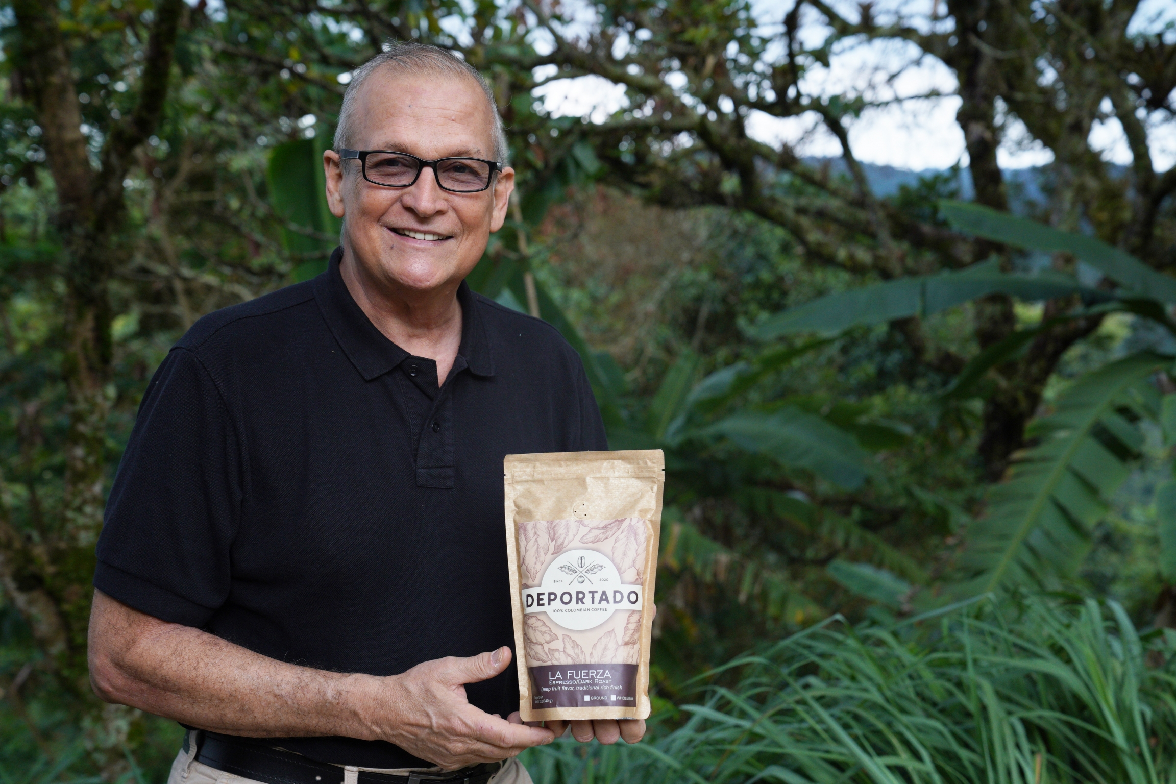 In April, Deportado Coffee exported its first batch of coffee to the United States. Mauricio Zuñiga hopes the brand will spark conversations on immigration reform.