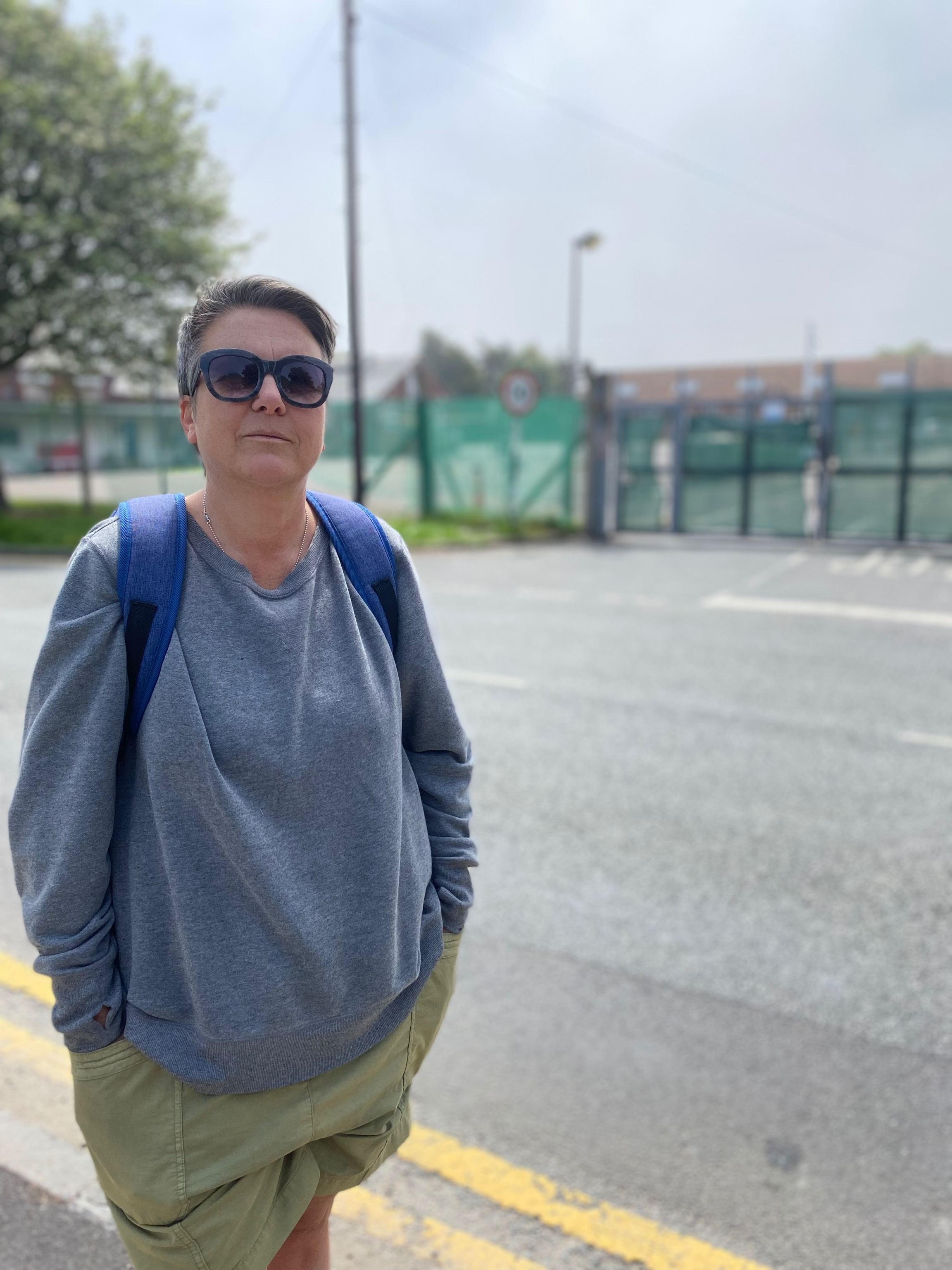Bridget Chapman from the Kent Refugee Action Network, a local charity, says the Napier barracks in the UK never should've been used to house migrants.