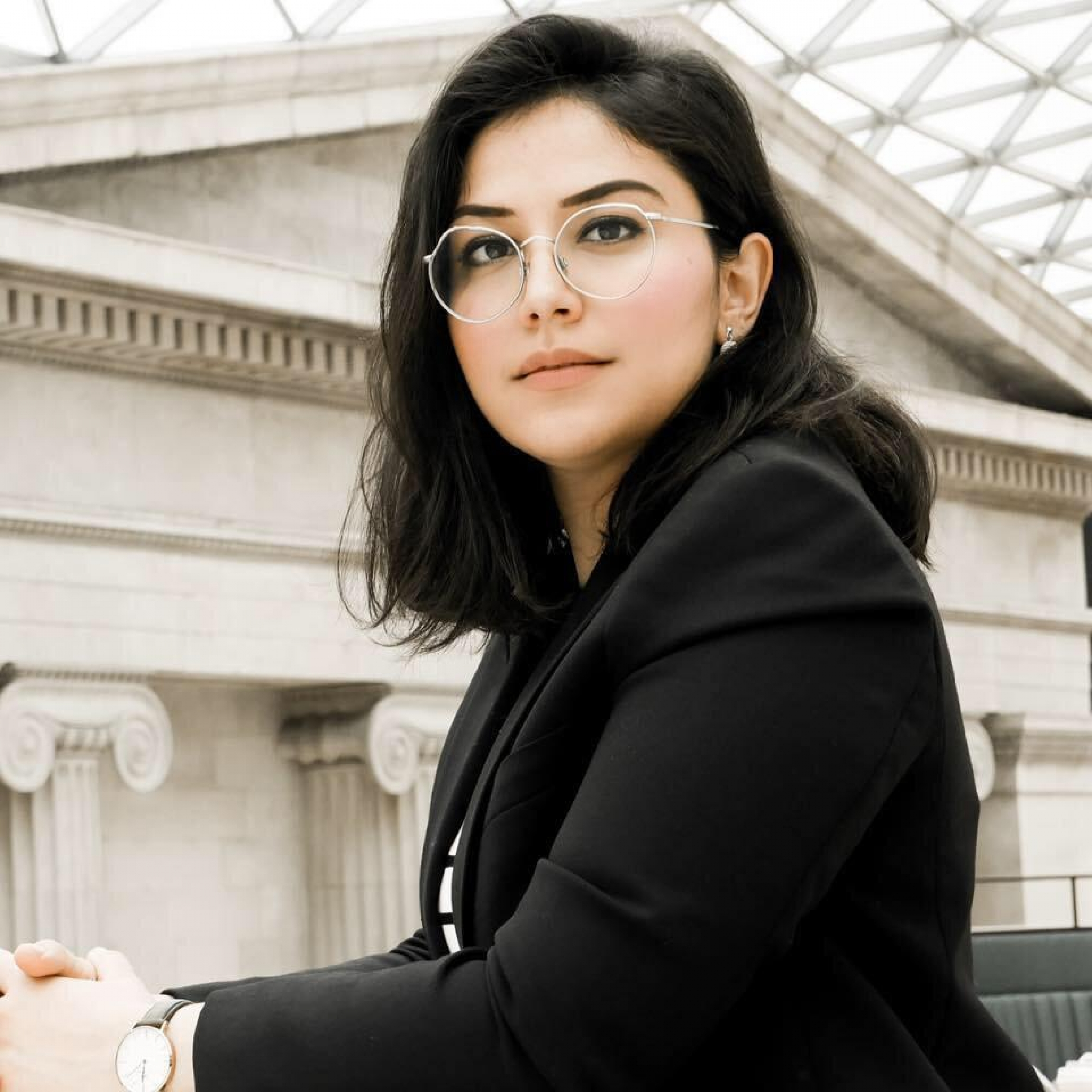 Shabnam Nasimi,director of the London-based lobby group Conservative Friends of Afghanistan, says that despite being a supporter of the UK prime minister and Brexit, she takes issue with the government's refugee policy.
