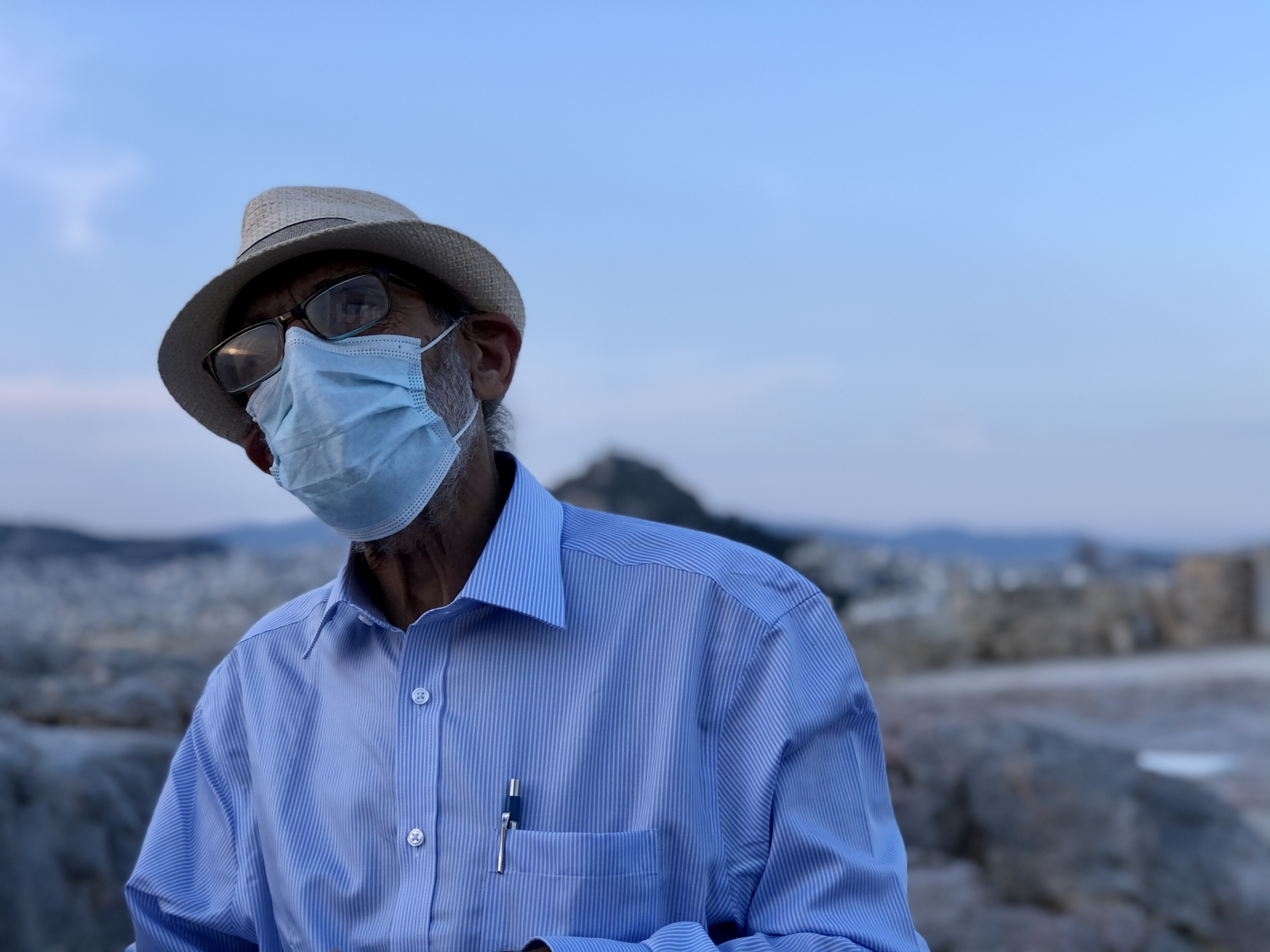 Manolis Korres, an internationally renowned restoration architect and globally respected Acropolis expert is spearheading much of the work on the site in Athens, Greece.