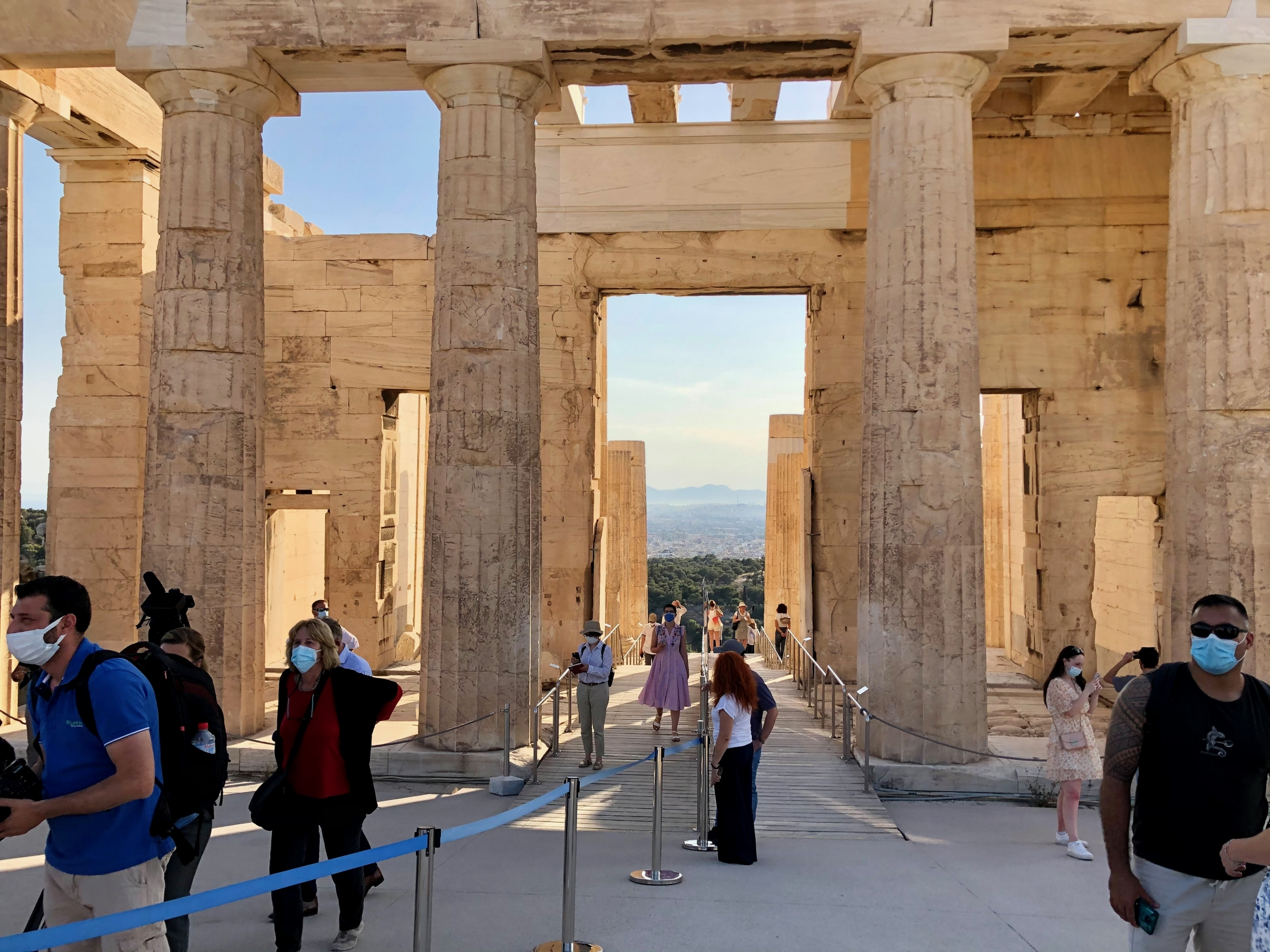 The Acropolis is one of the country's most treasured and often-visited archeological sites, welcoming more than 3 million visitors annuallyin prepandemic times.