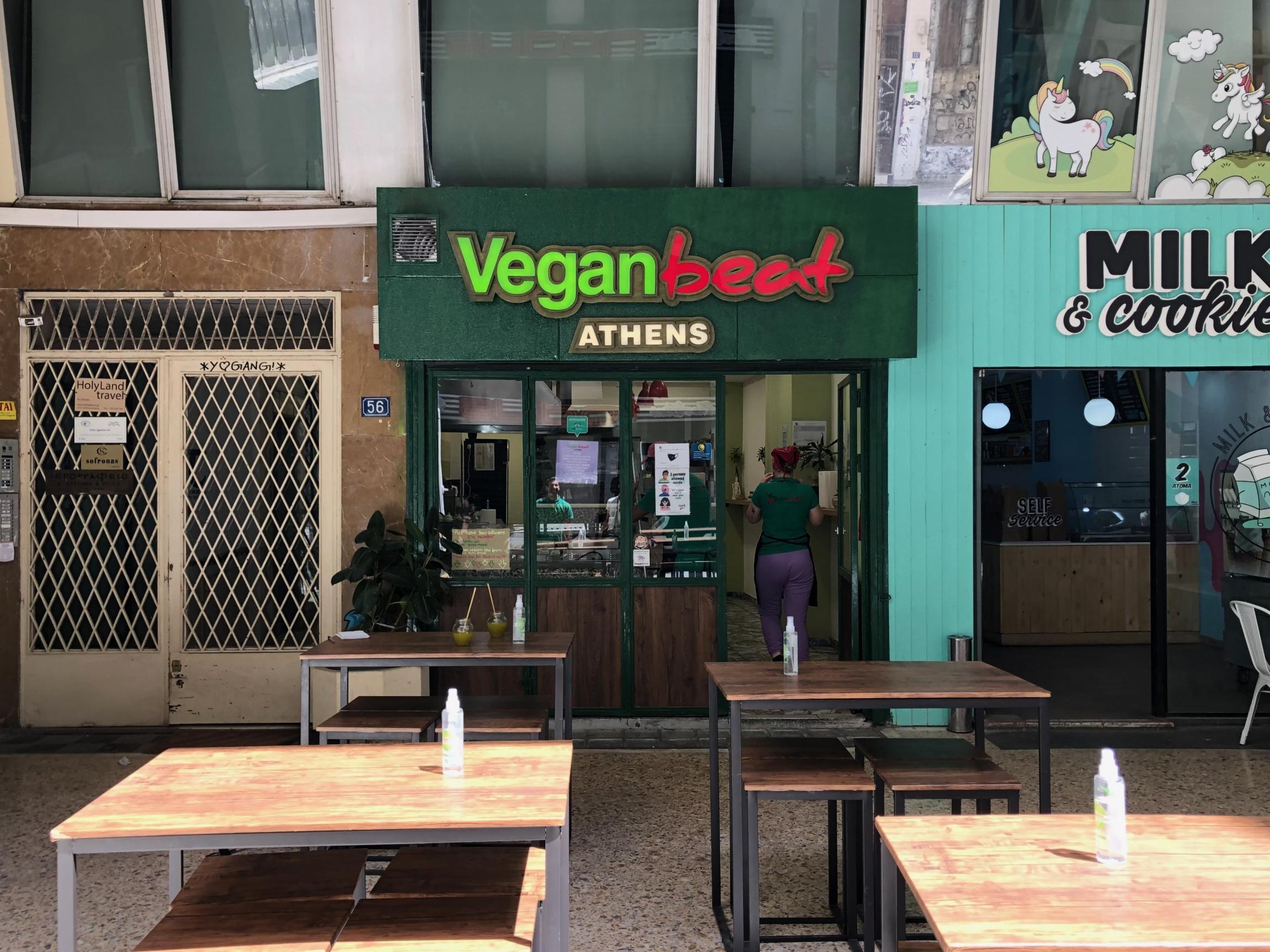 Vegan Beat storefront