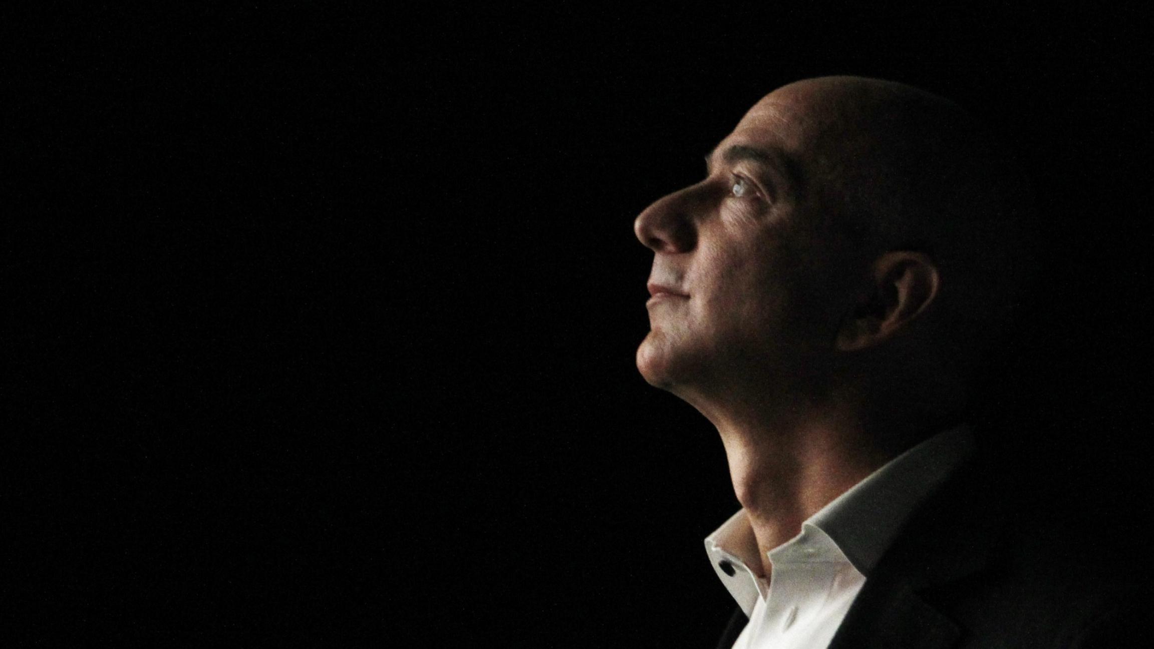 Jeff Bezos in profile
