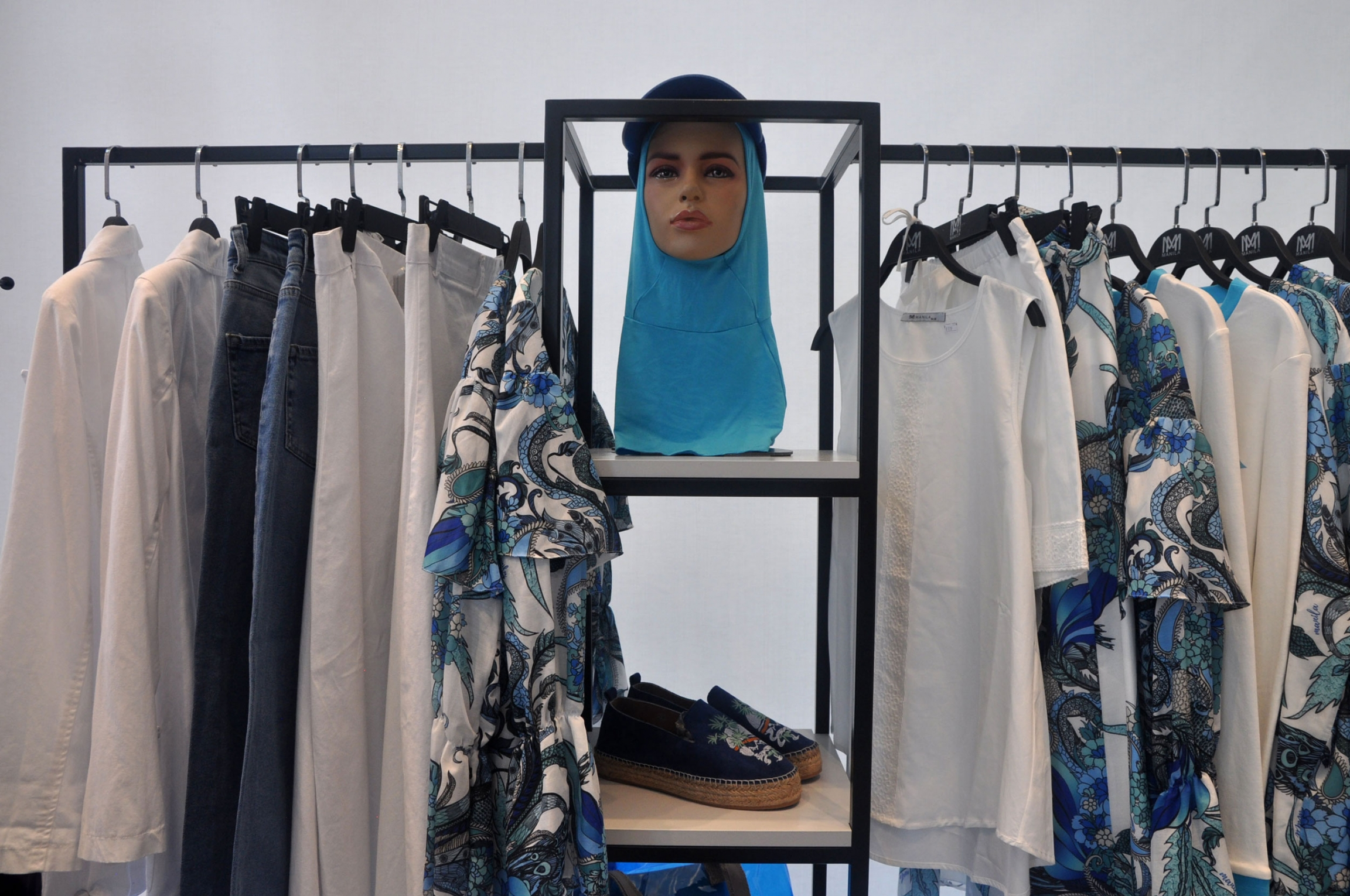 Zeruj Port Shopping Mall in Istanbul is primarily devoted to modest fashion.
