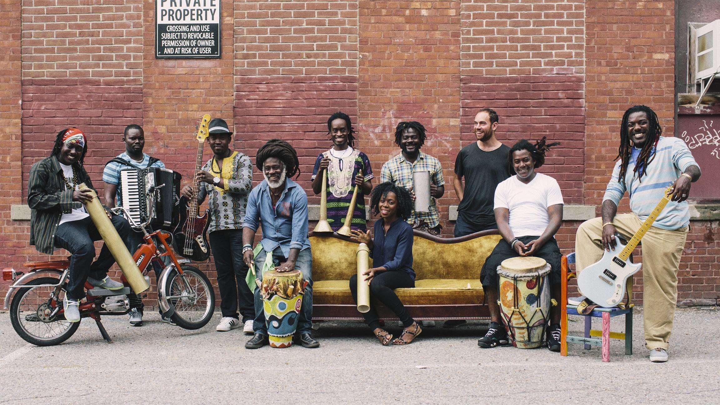 Multi-generational Haitian band Lakou Mizik has a new album in collaboration with Grammy-winning electronic music artist Joseph Ray titled 'Leave The Bones.'