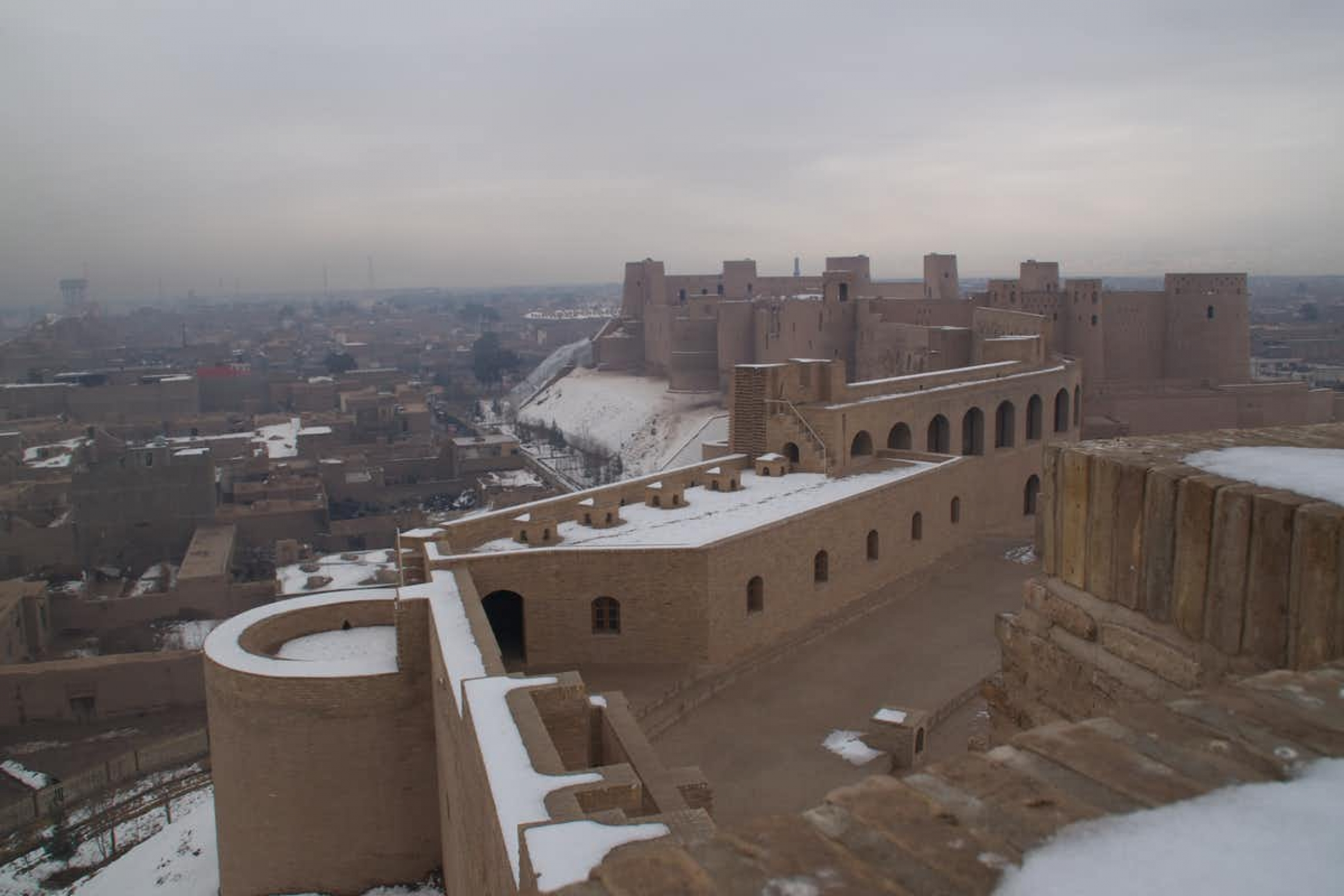 The Citadel of Herat, which dates to 330 BC, holds a commanding view of the surrounding city.