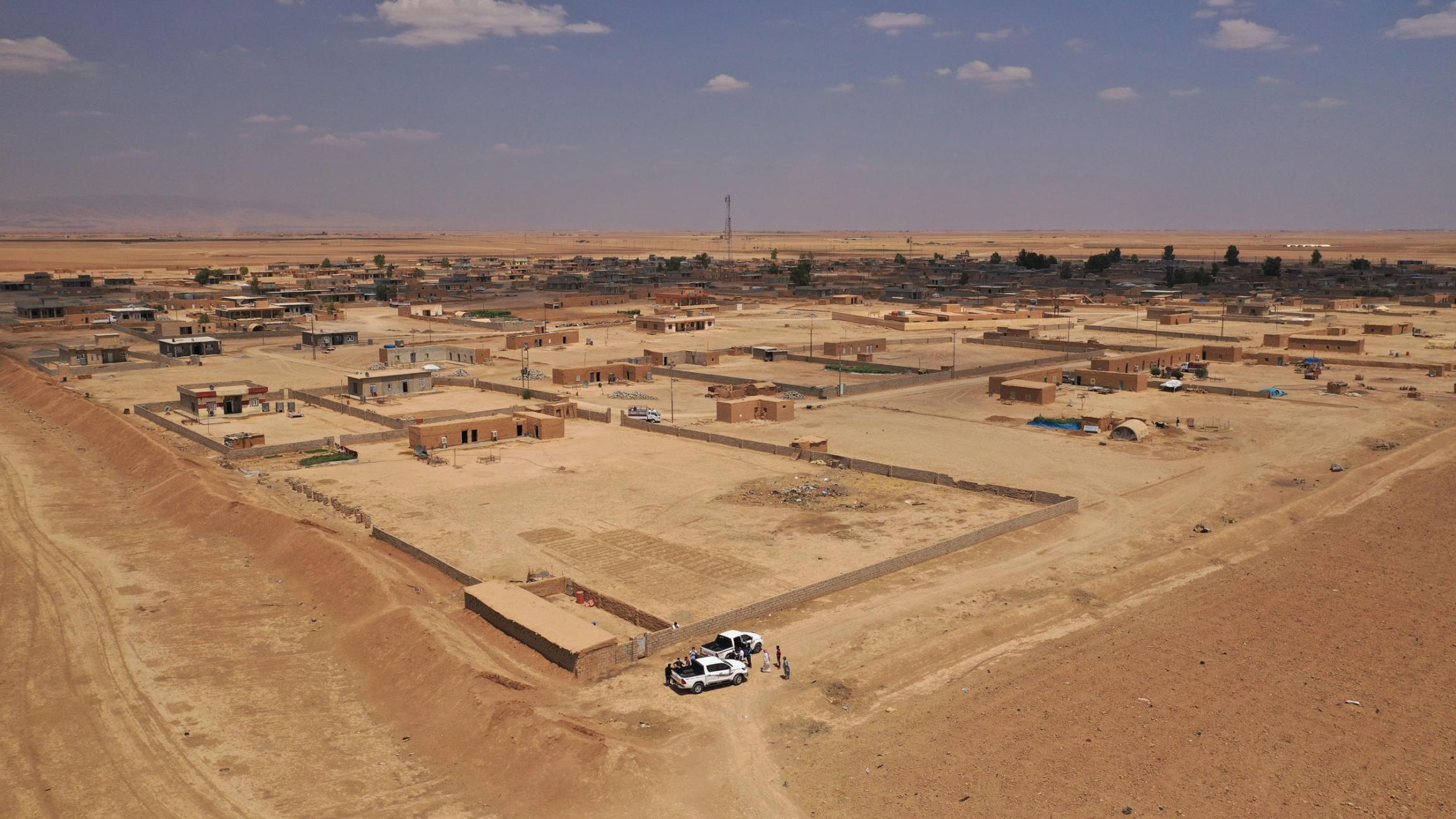 Al-guran village, Baaj, Iraq, August 2021.