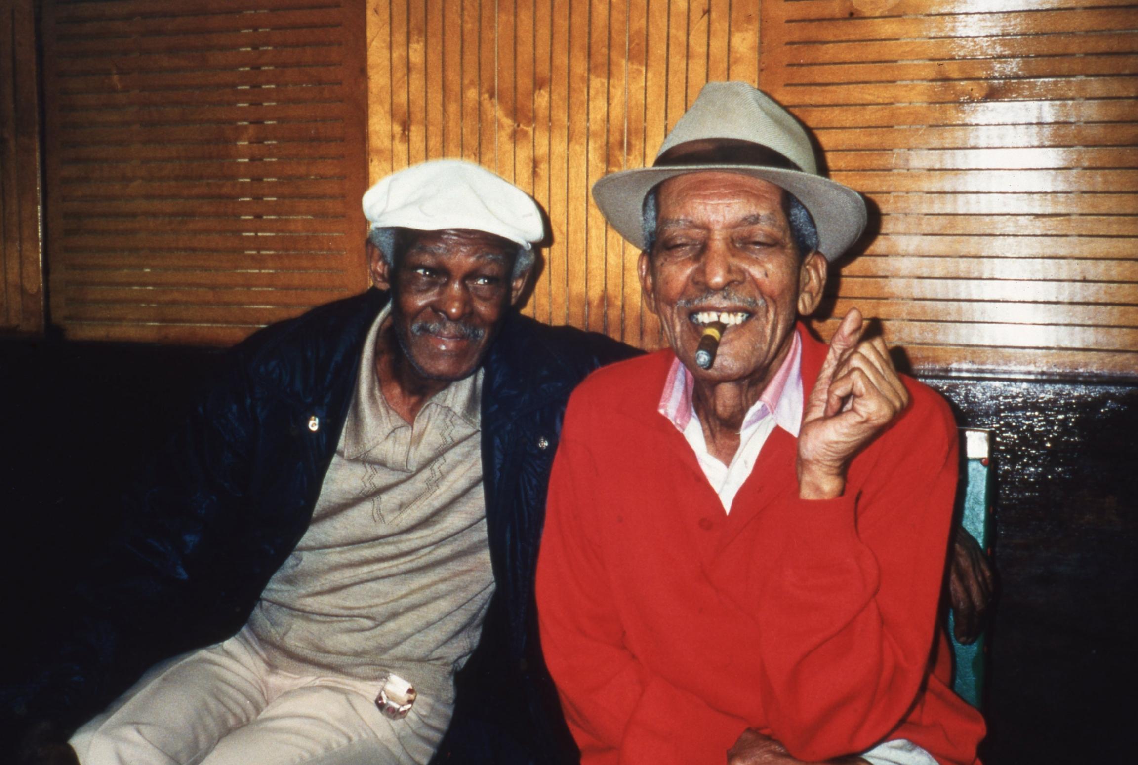 Ibrahim Ferrer and Compay Segundo.