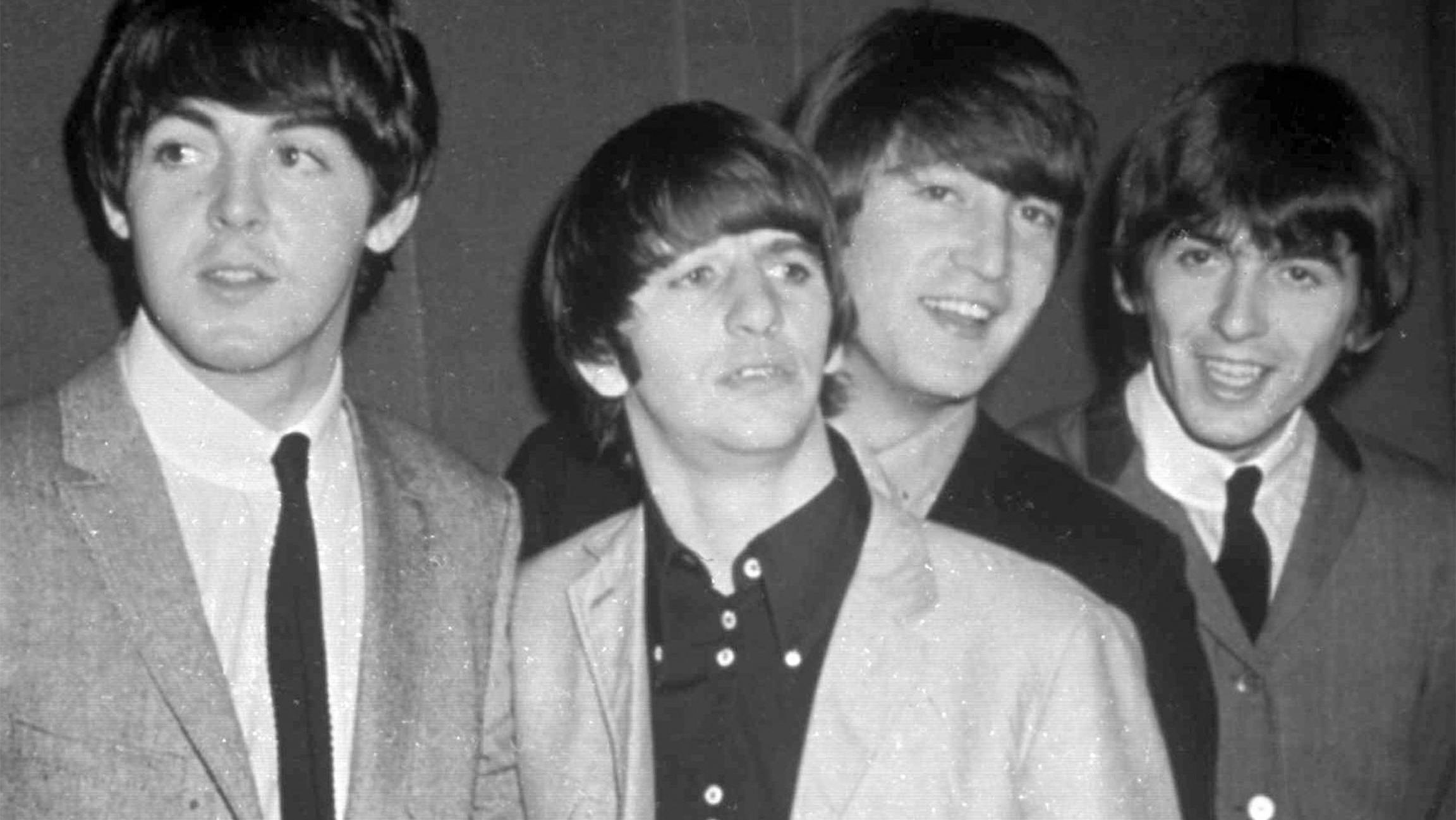 The Beatles, from left, Paul McCartney, Ringo Starr, John Lennon and George Harrison