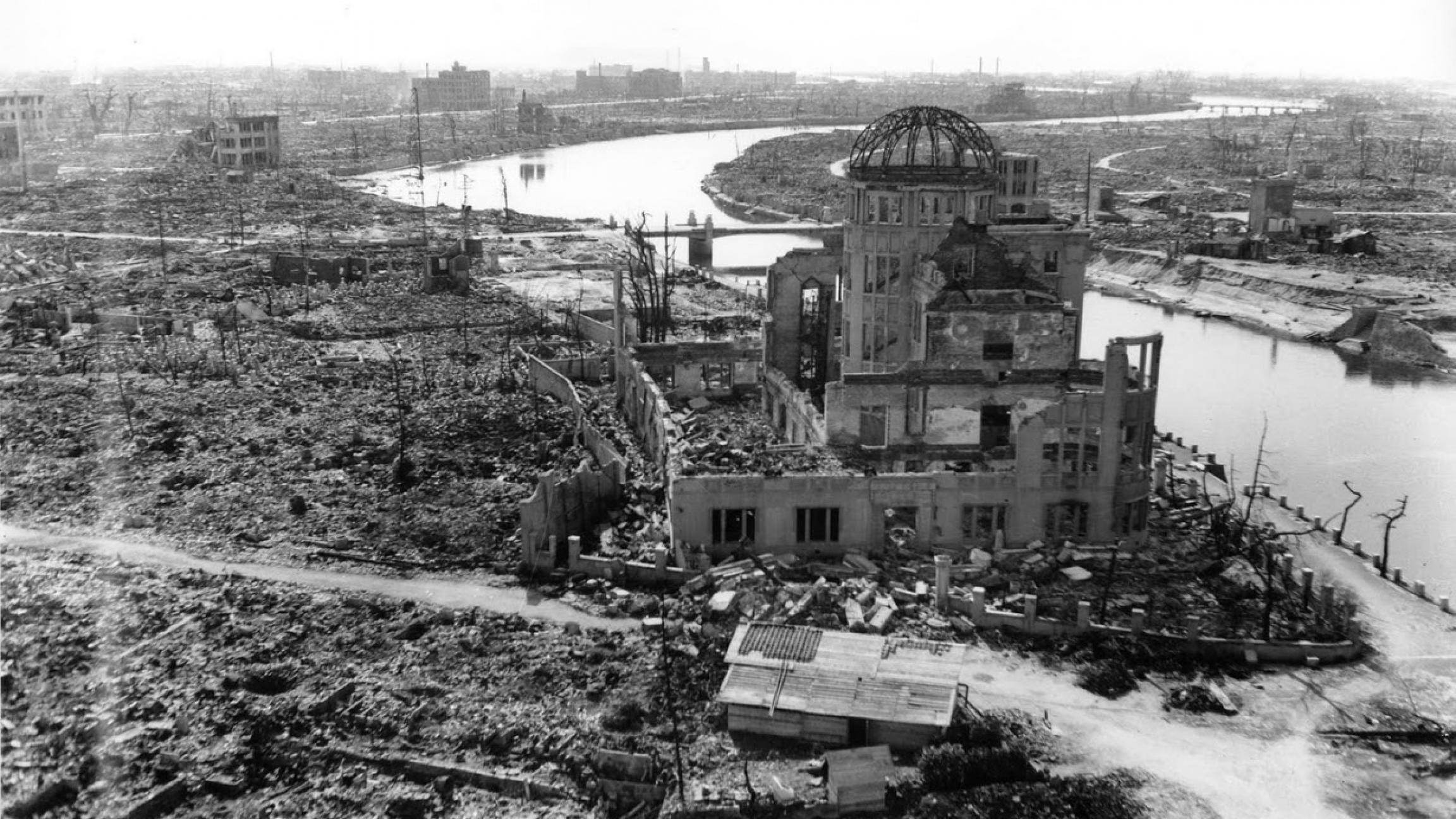November 1945. Hiroshima, Japan.