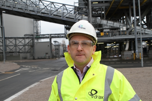 Andy Koss, Drax power CEO
