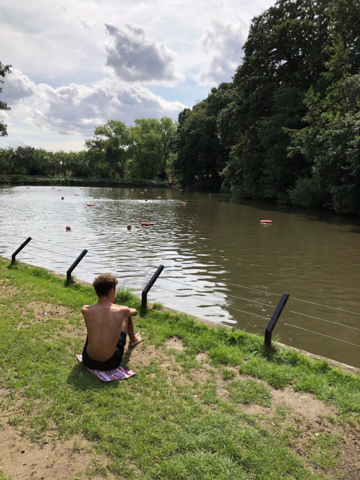 1334b633d2b The mixed pond at Hampstead Heath is open to both men and women.
