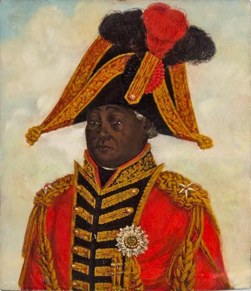 a portrait of Henry I, the former slave who became king.