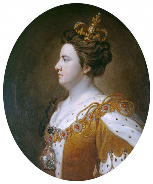 an illustration of Queen Anne