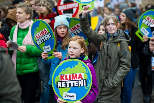kids climate march