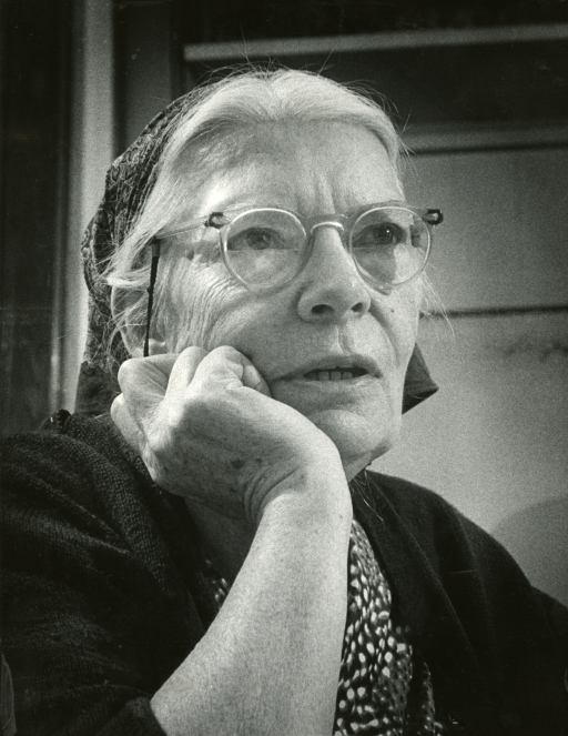 portrait of Dorothy Day