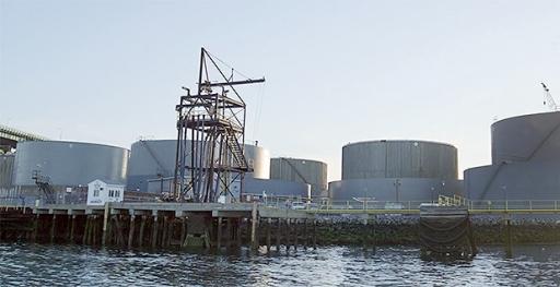 Exxon Everett MA oil storage facility