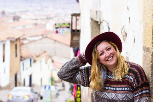 Portrait of Rebecca Gibian